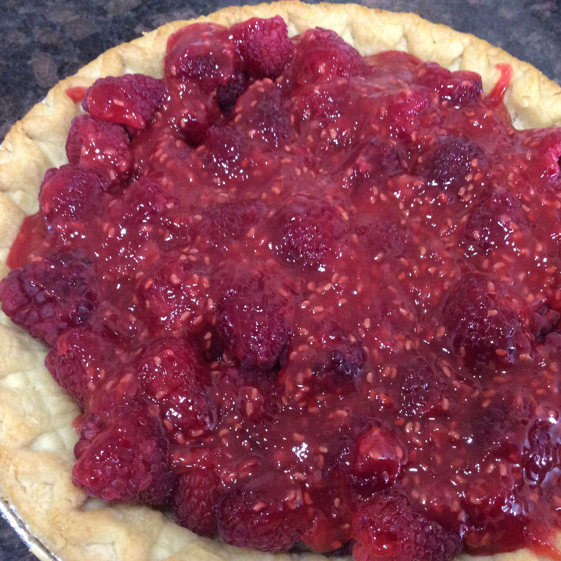 Summer Fresh Raspberry Pie Rjm