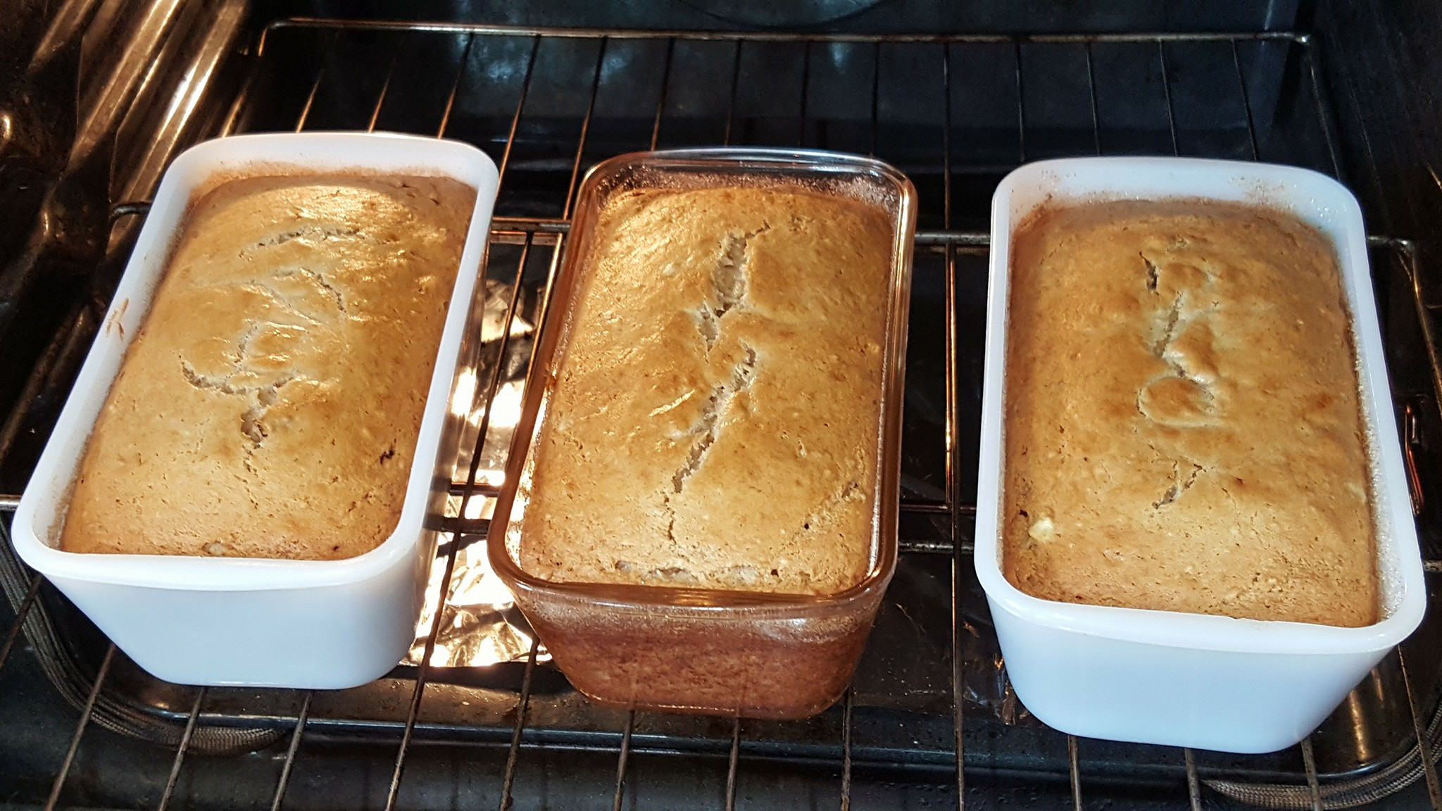 Banana Sour Cream Bread Esther Nelson