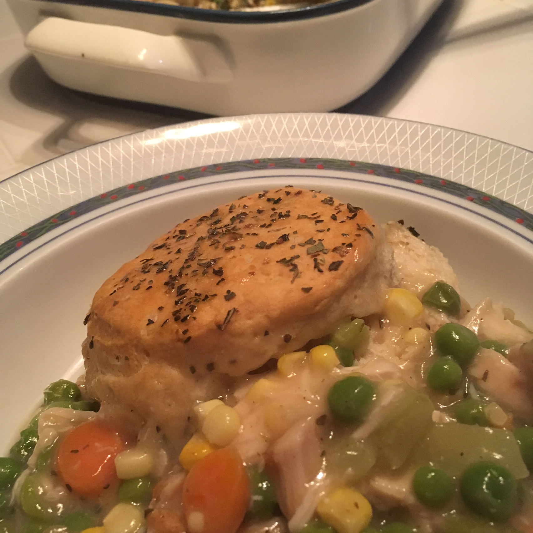 Chicken and Biscuit Casserole sweetvoice100
