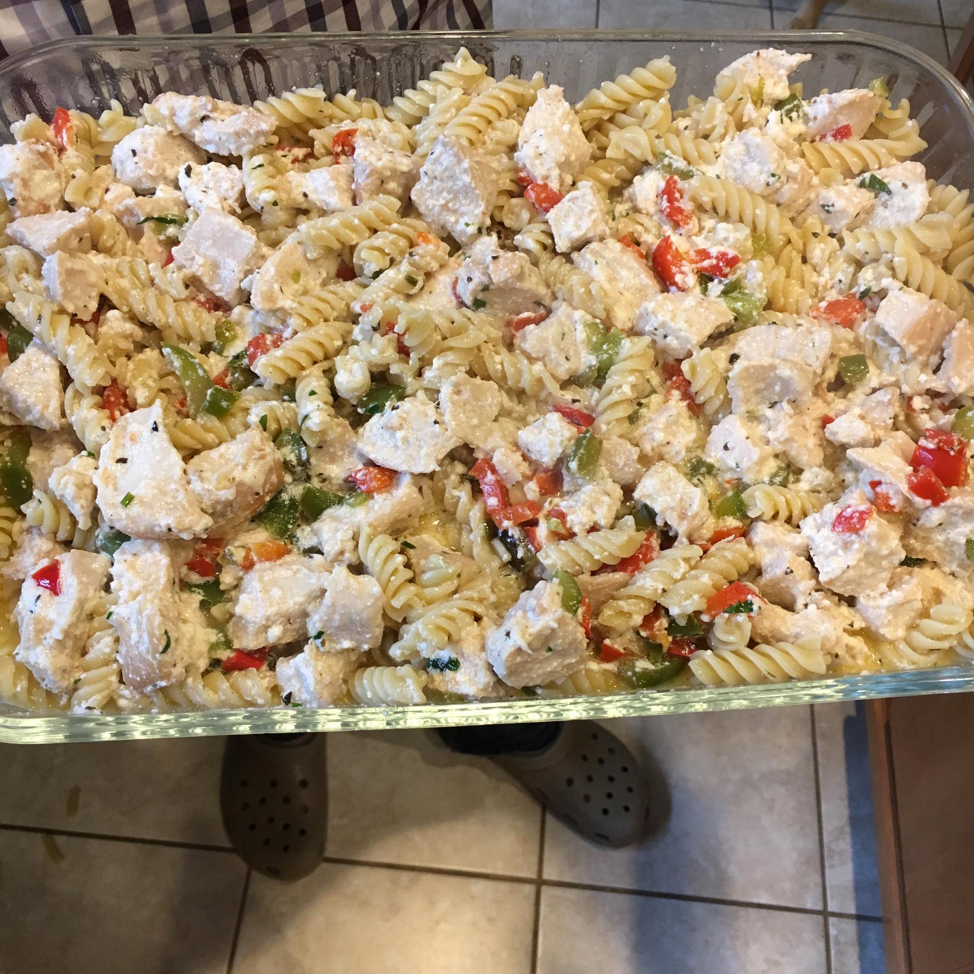Chicken Rotini Stovetop Casserole amandaalphonse