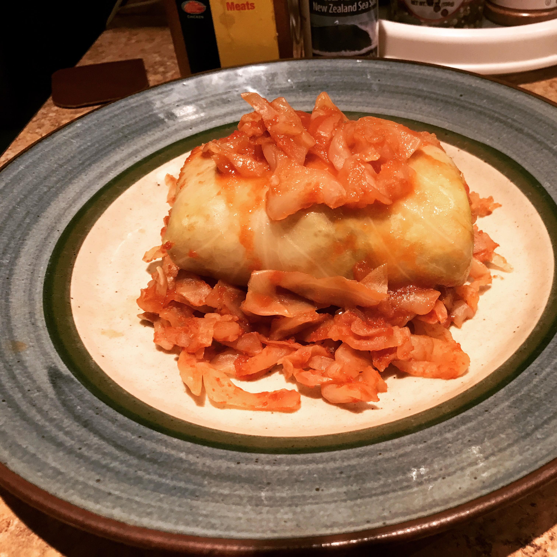 Polish Stuffed Cabbage