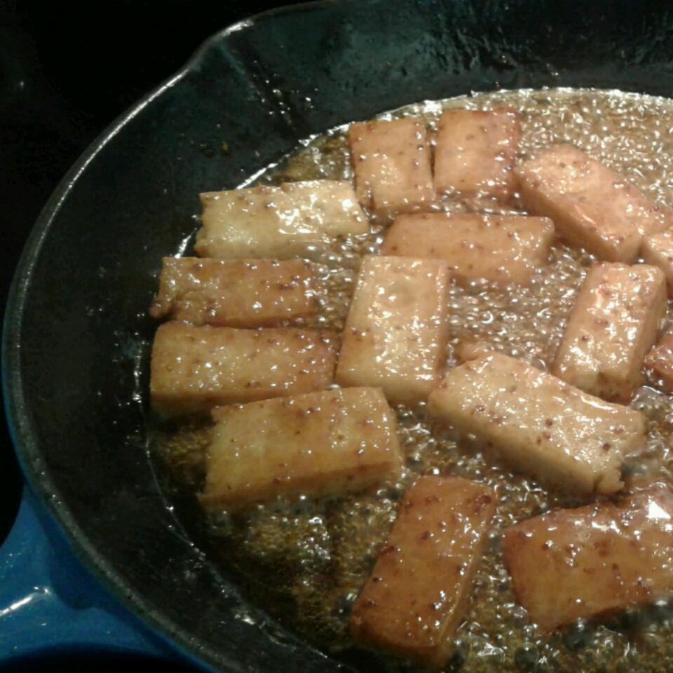 Maple Glazed Tofu