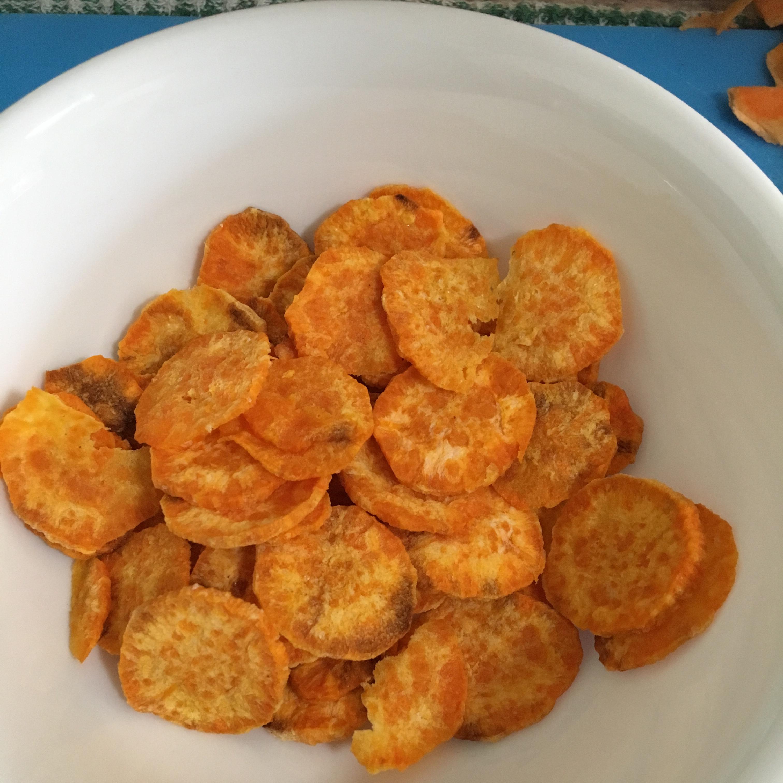 Microwave Sweet Potato Chips Mercy Herrera McEwan