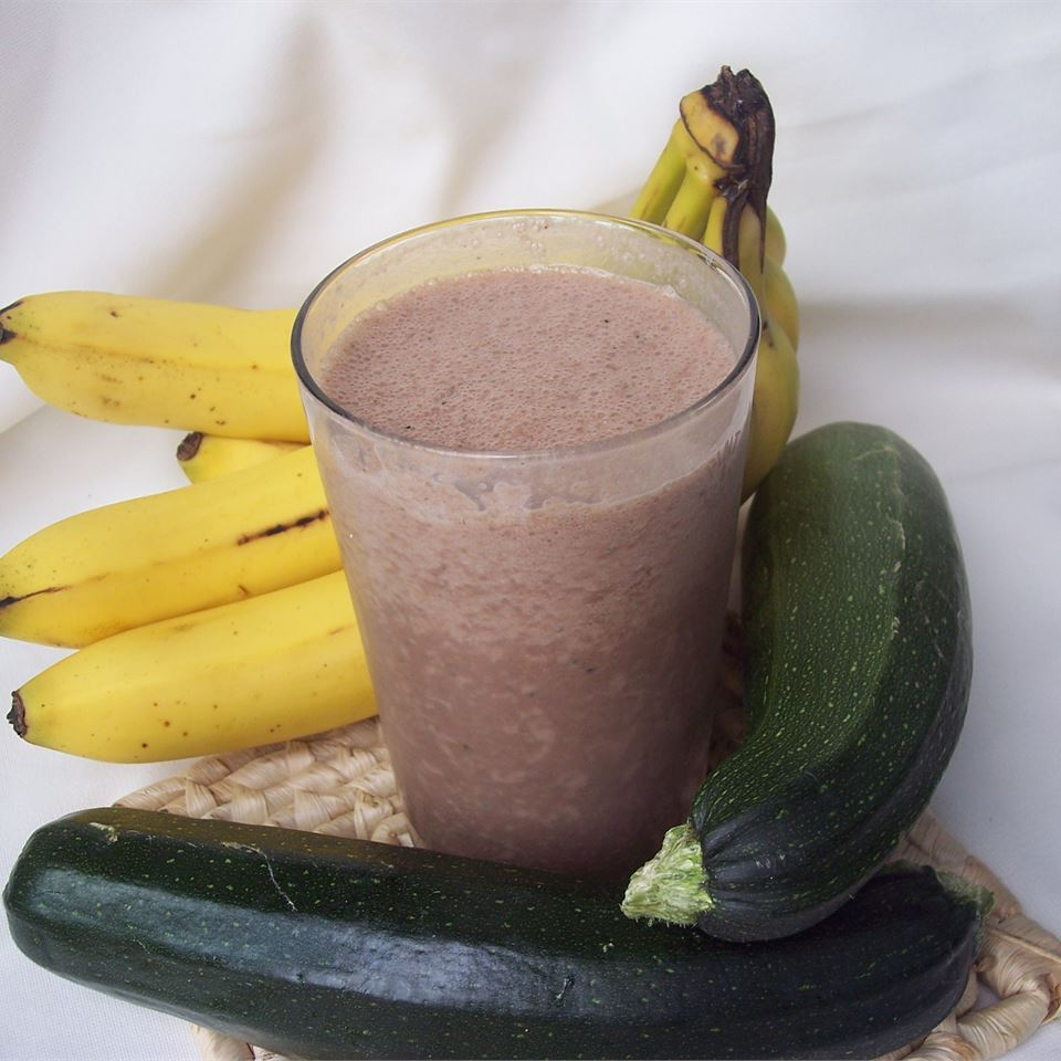 Don't Knock it Until You Try it Zucchini Chocolate Banana Nut Milkshake Sarah-May