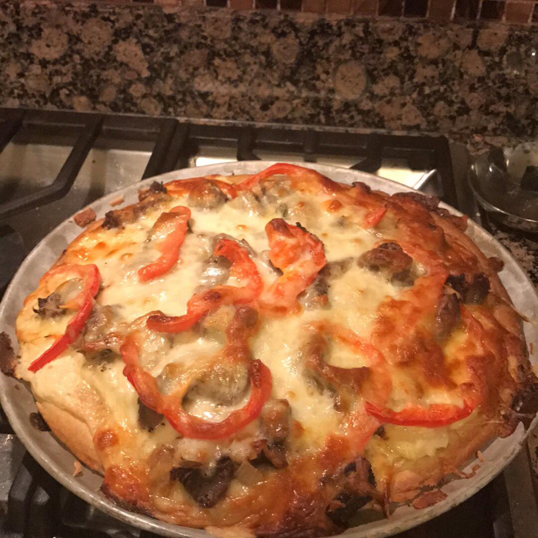Prime Rib Pizza Kathy