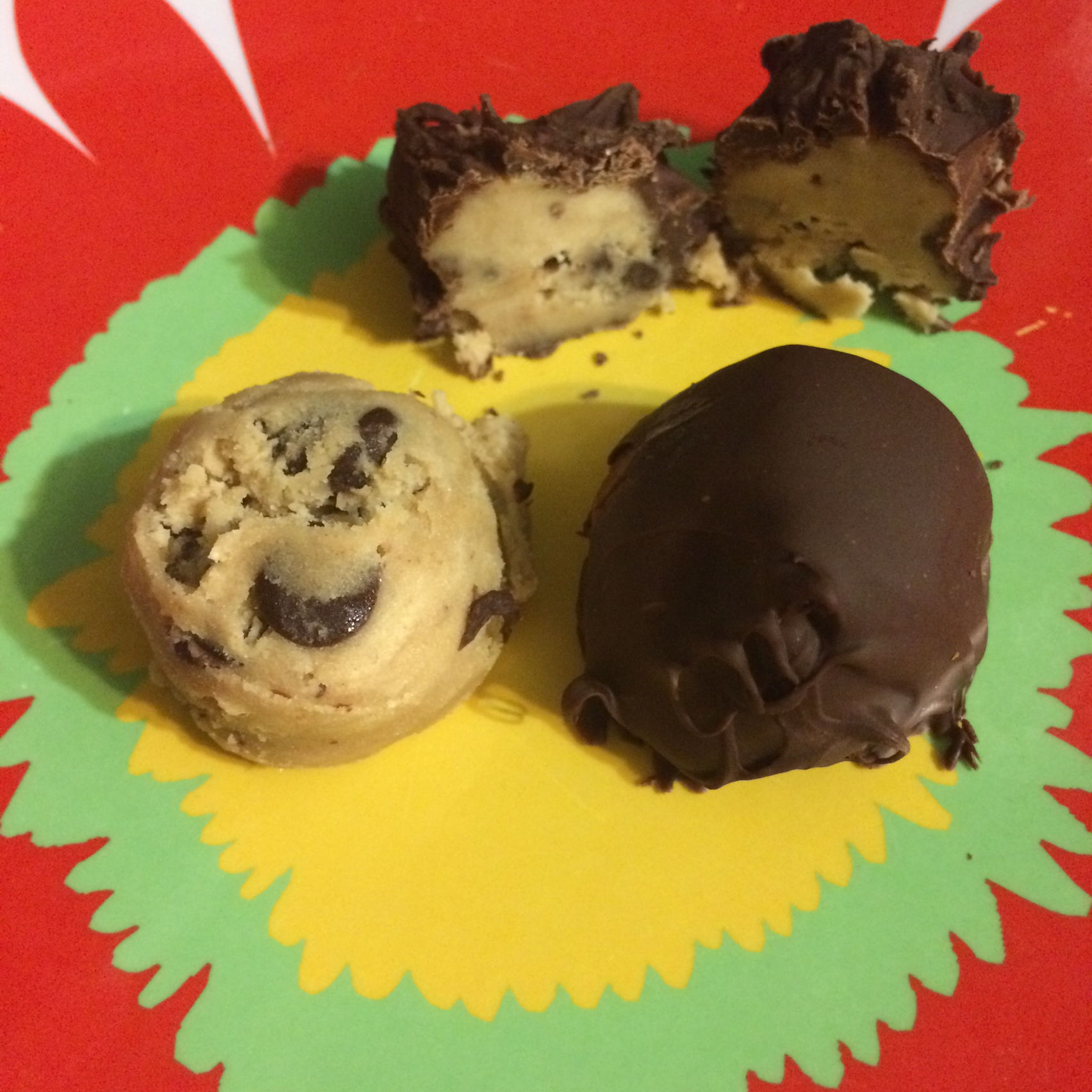 Nichola's Chocolate Chip Cookie Dough Truffles Chelsey Carr