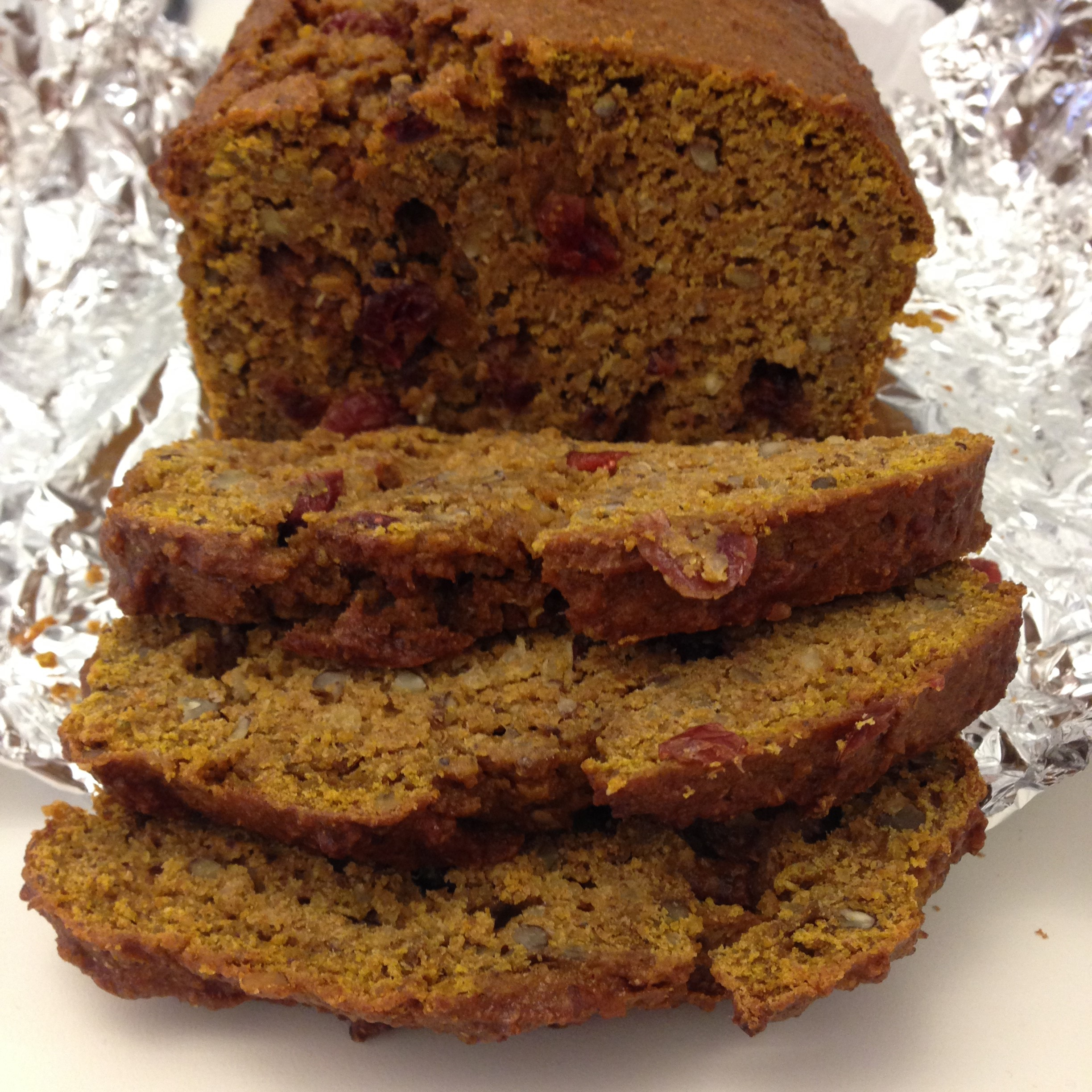 Pumpkin Quinoa Bread virgi