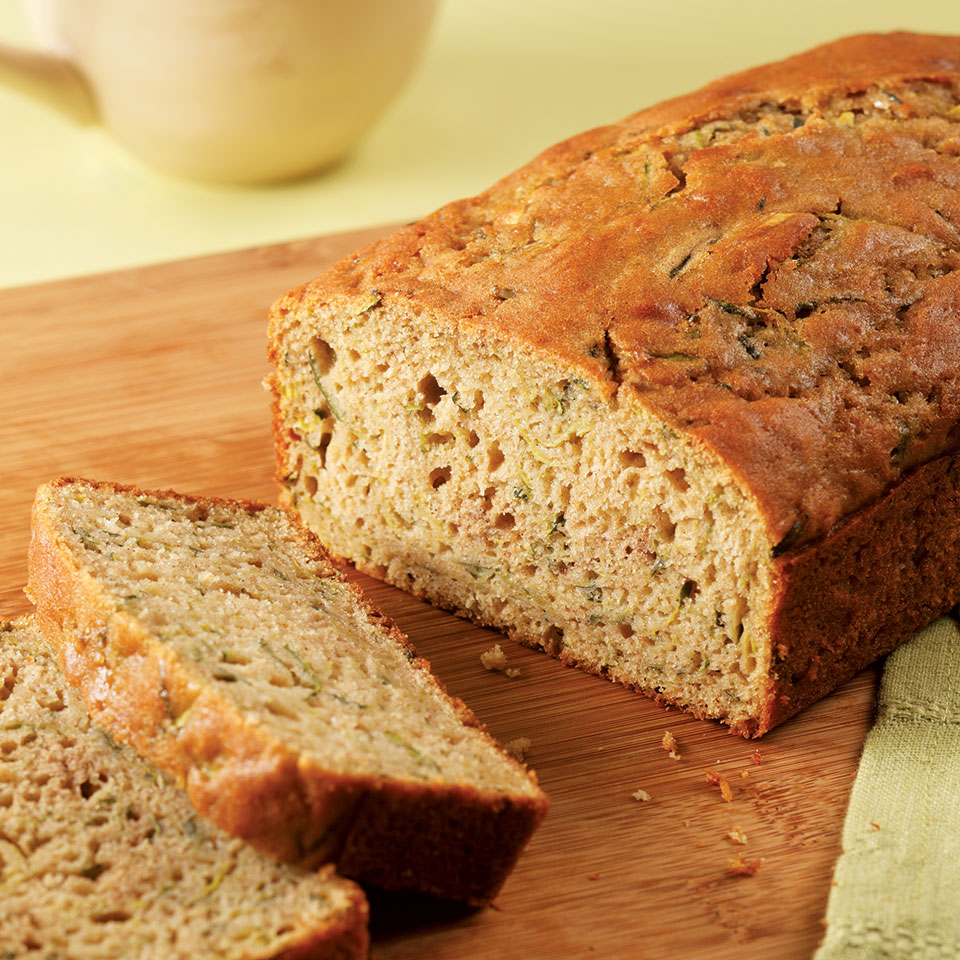 EatingWell Zucchini Bread EatingWell Test Kitchen