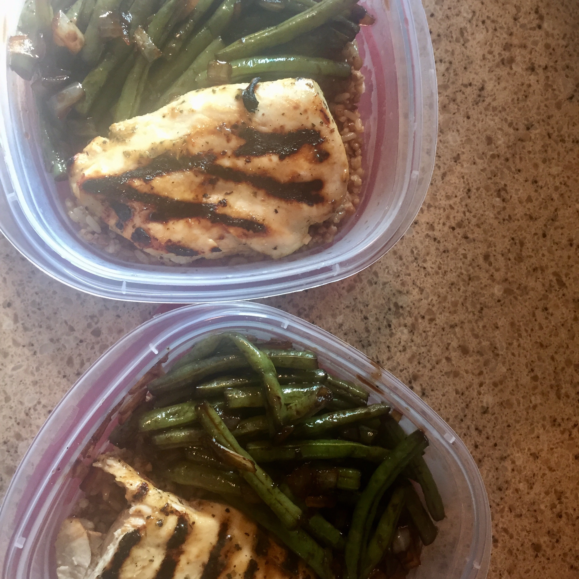 Dad's Pan-Fried Green Beans