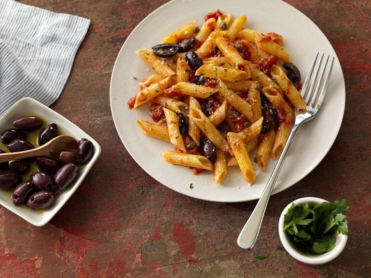 Easy Barilla® Gluten Free Puttanesca Pasta Barilla Canada