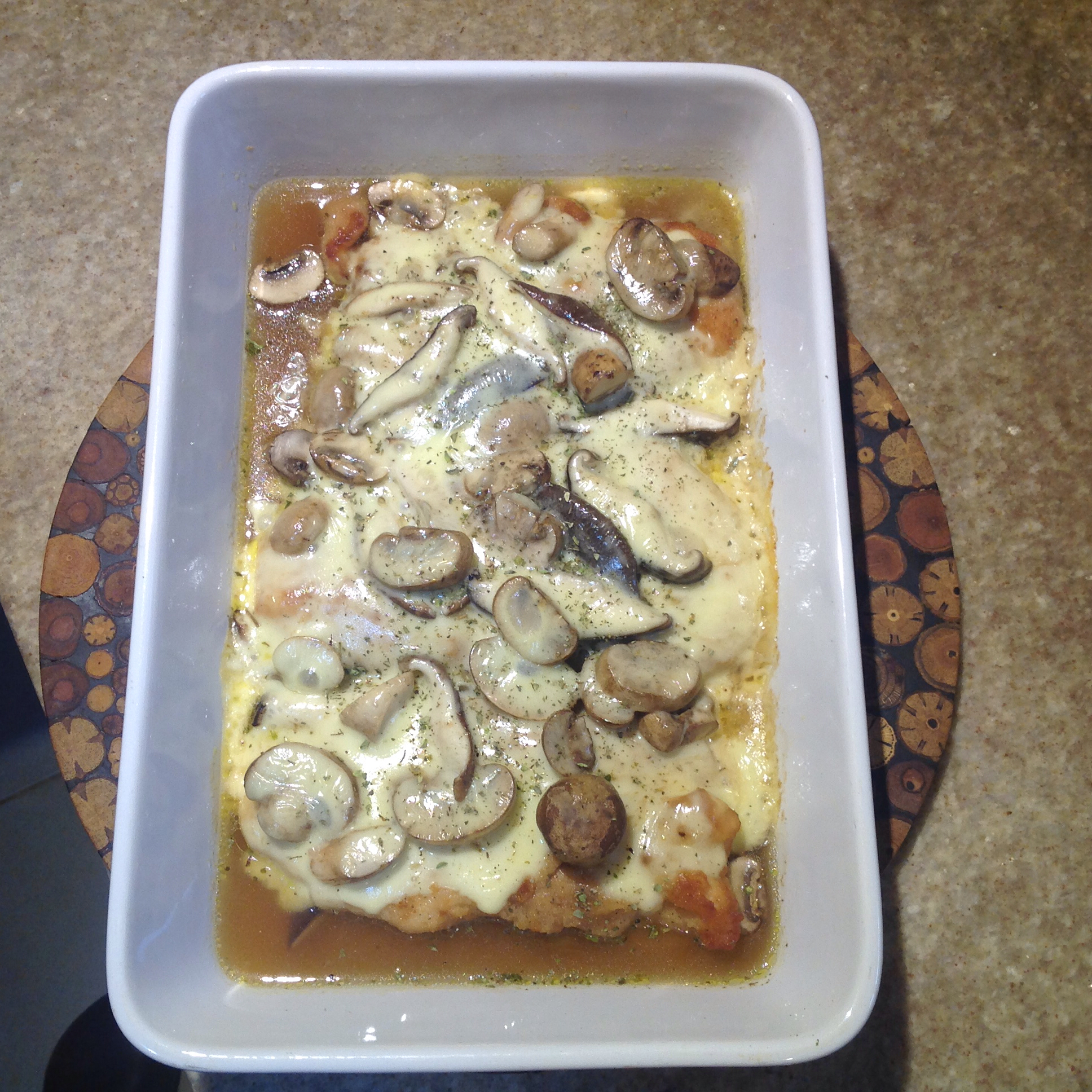 Chicken With Mushrooms Arvidman