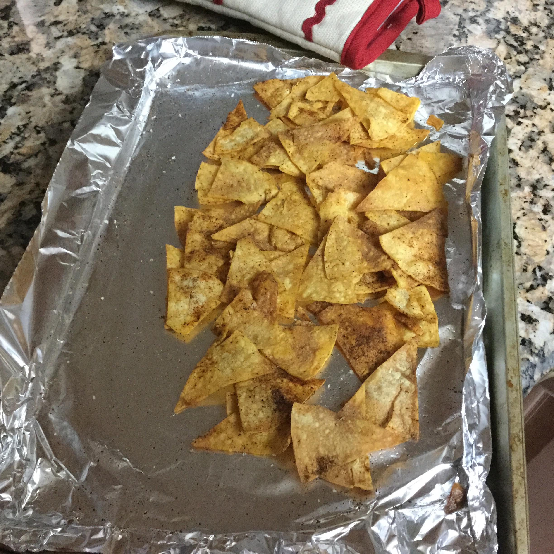 Baked Tortilla Chips katie