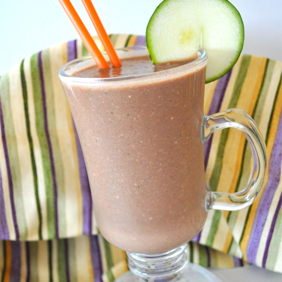 Don't Knock it Until You Try it Zucchini Chocolate Banana Nut Milkshake Alberta Rose