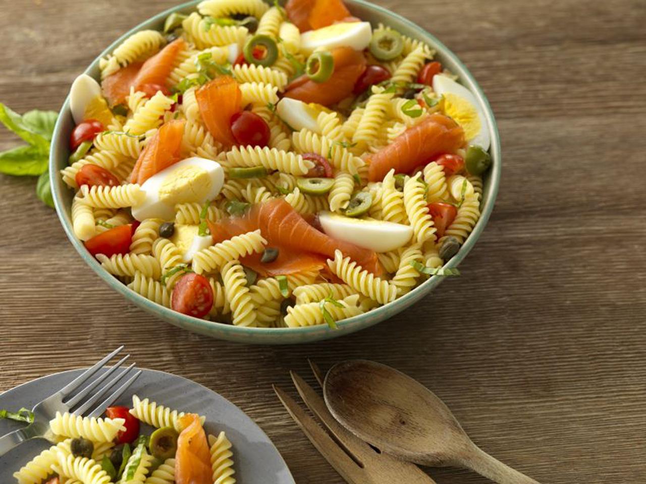 Barilla® Gluten Free Lox Pasta Salad