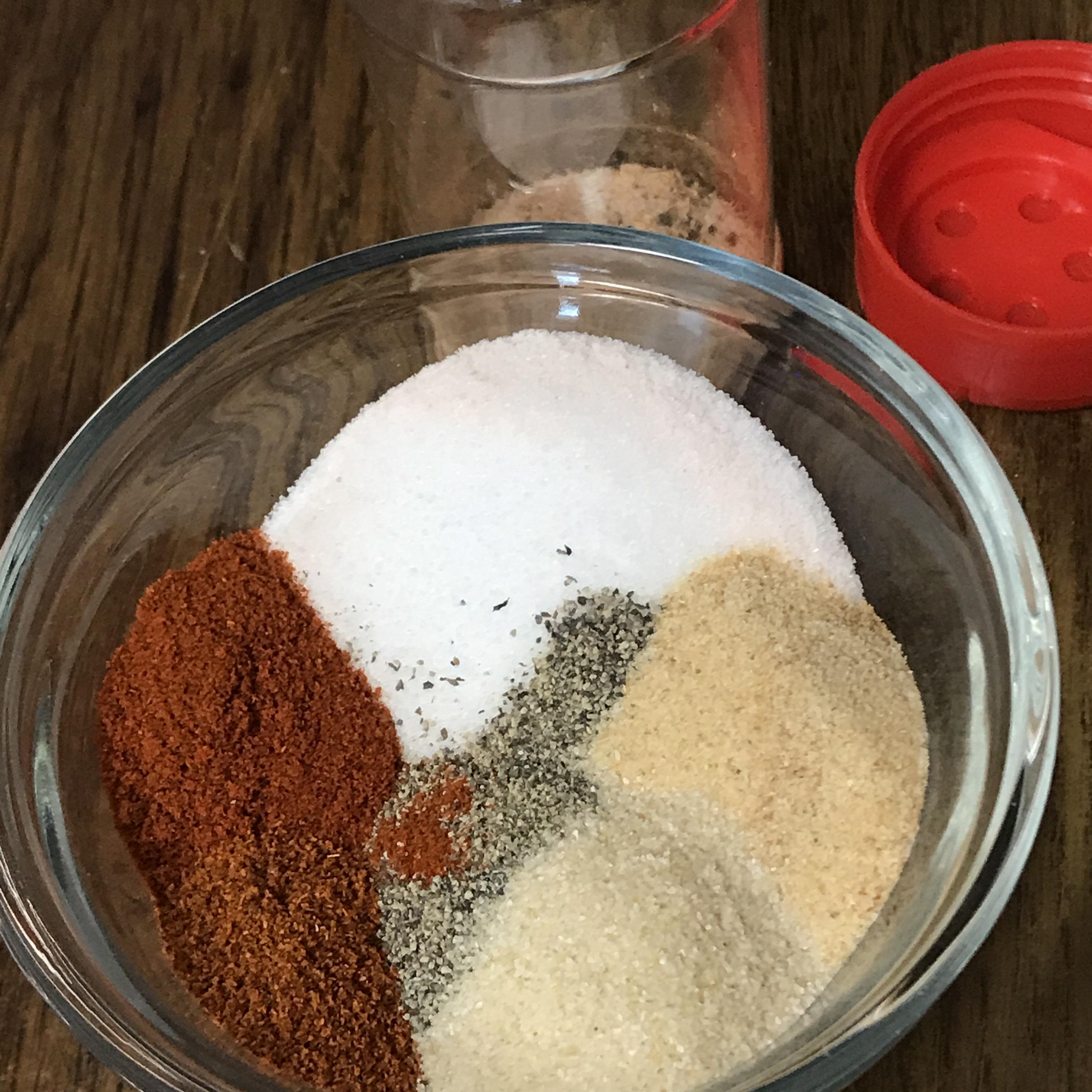 Homemade Seasoned Salt
