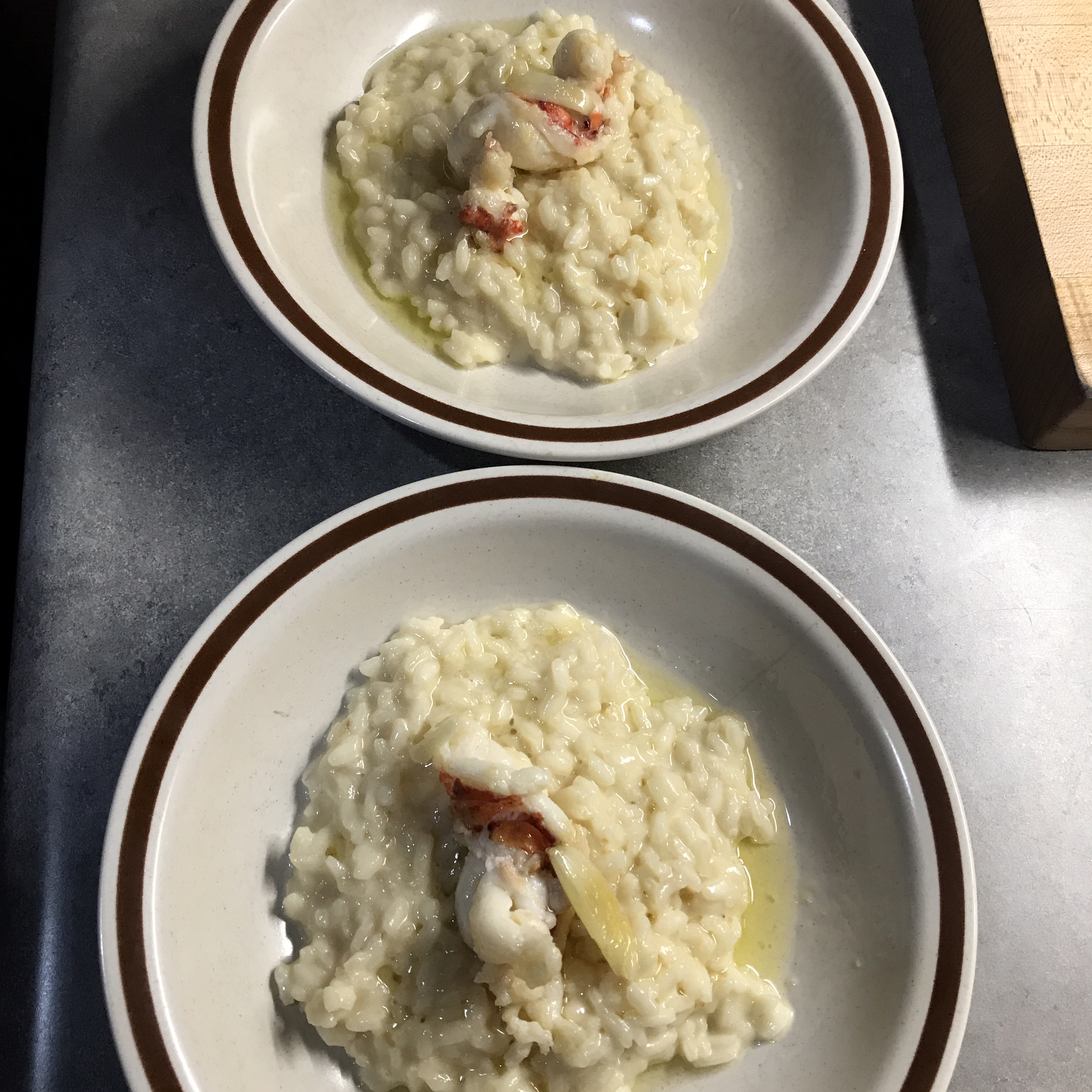Risotto with Truffle and Parmesan