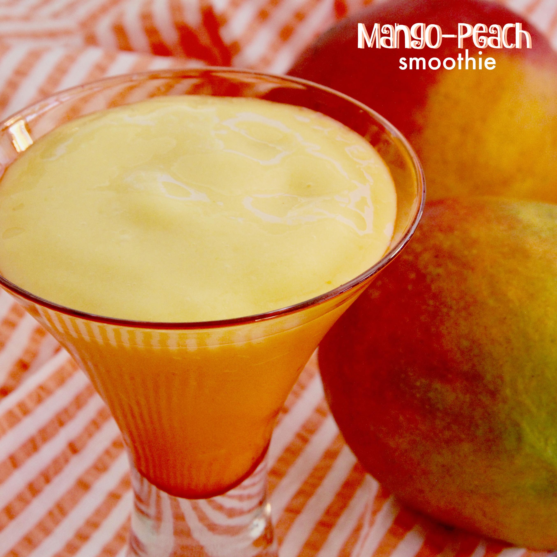 Mango-Peach Smoothie