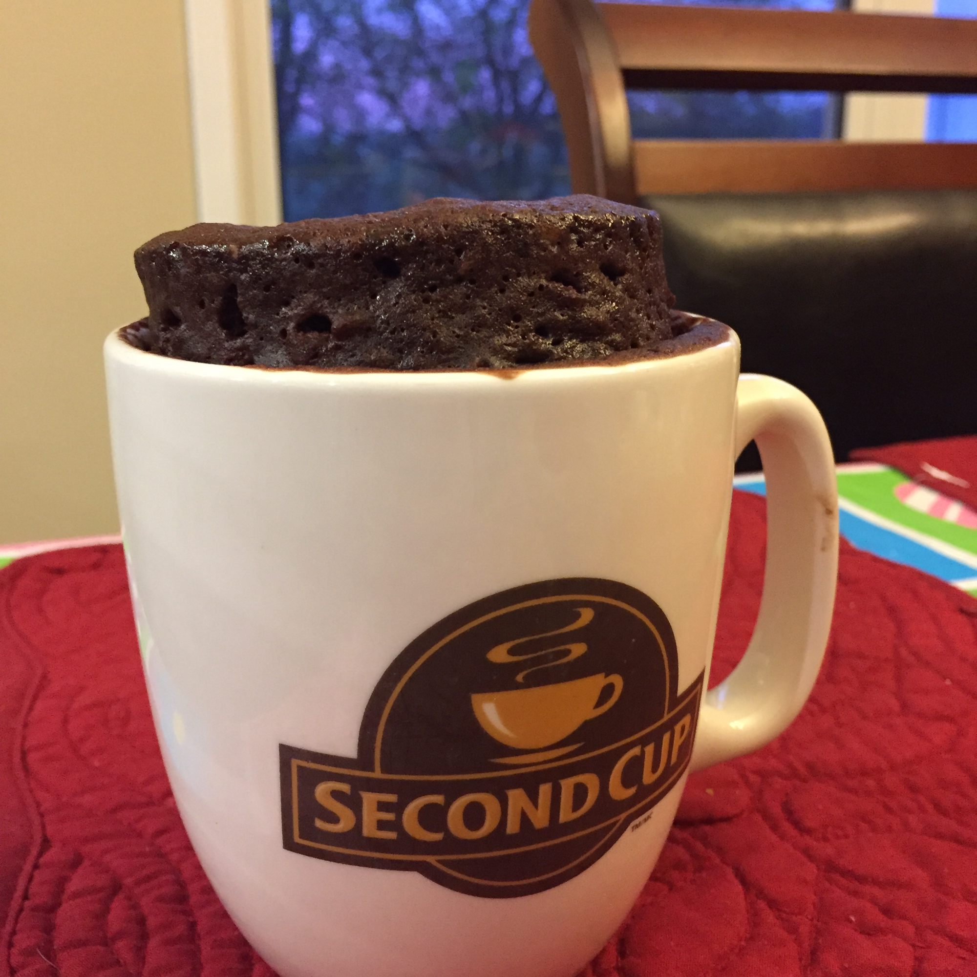 Microwave Nutella® Mug Cake Recipe   Allrecipes