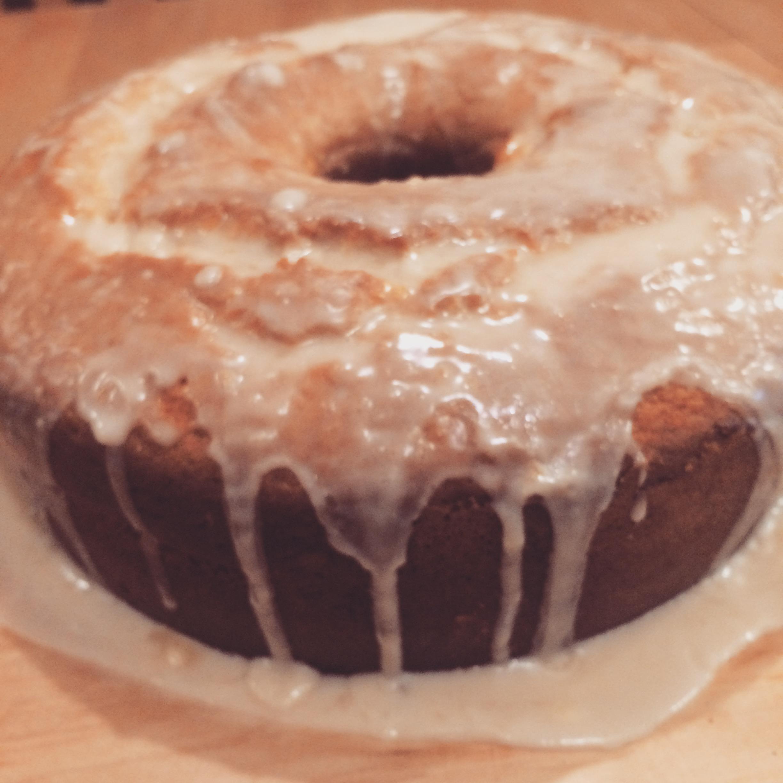 Lemon Pound Cake III