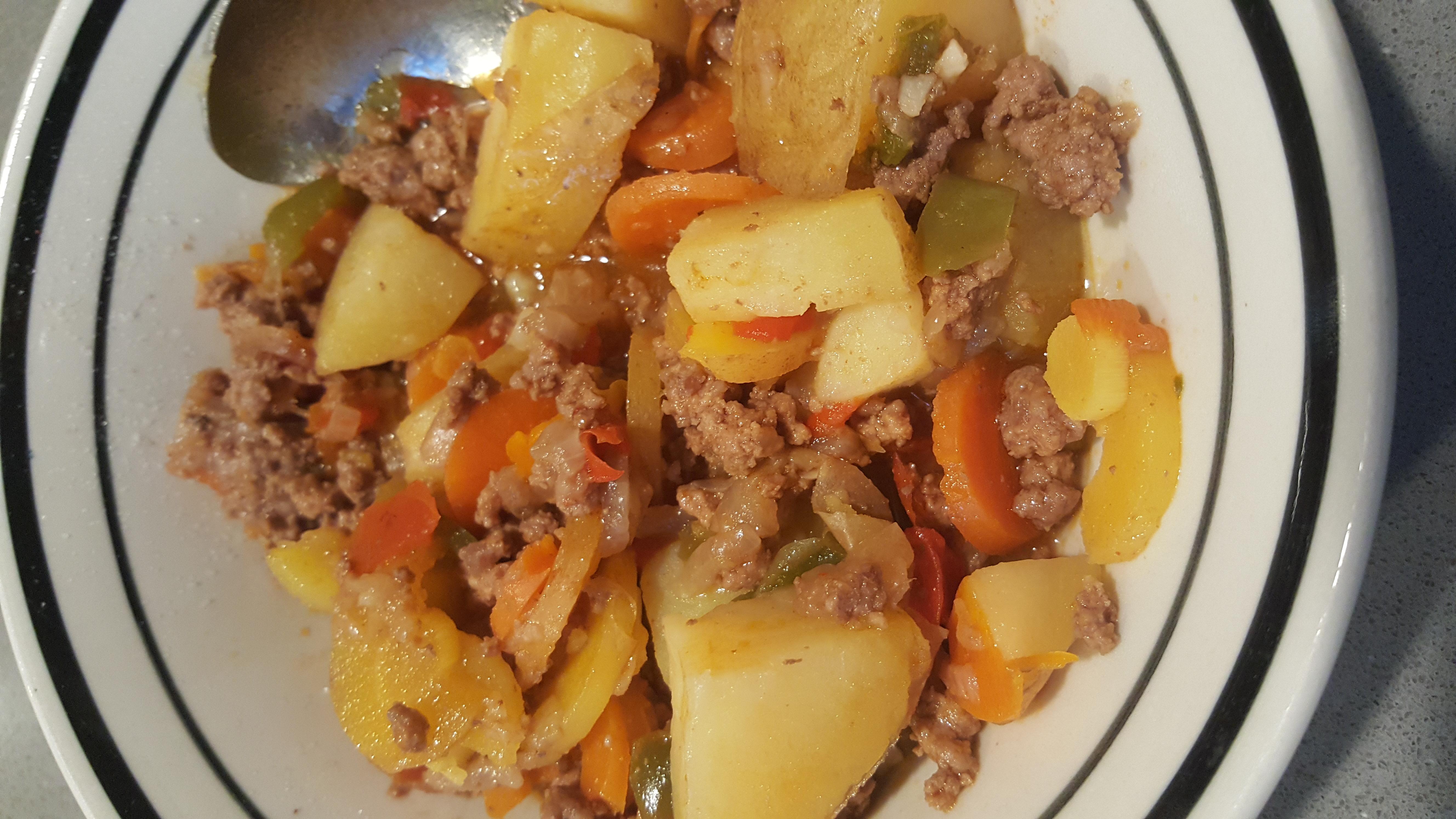 Ground Beef Goulash