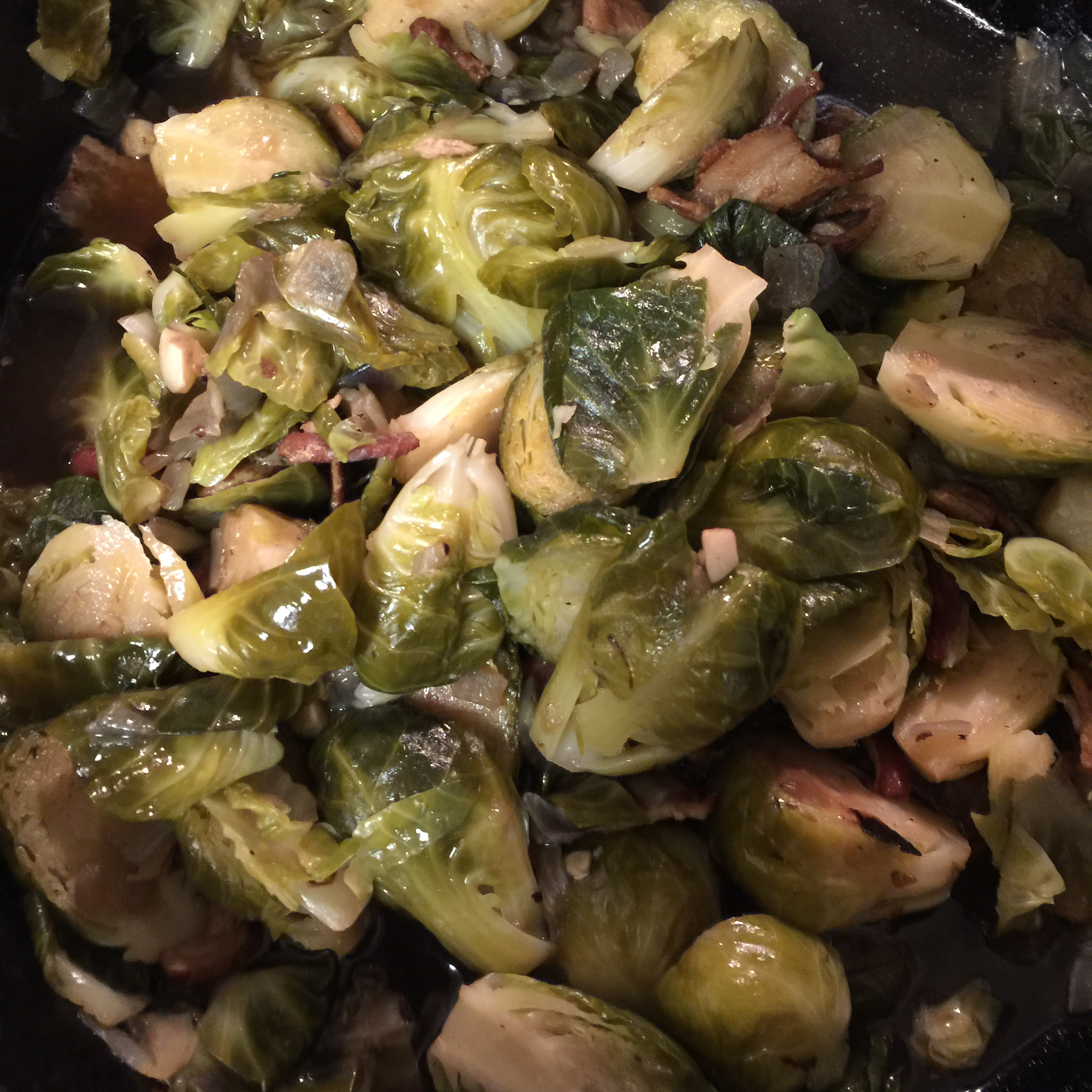 Brussels Sprouts ala Angela Melissa Olivo