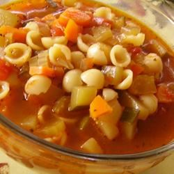 Old-Fashioned Vegetable Soup Christina