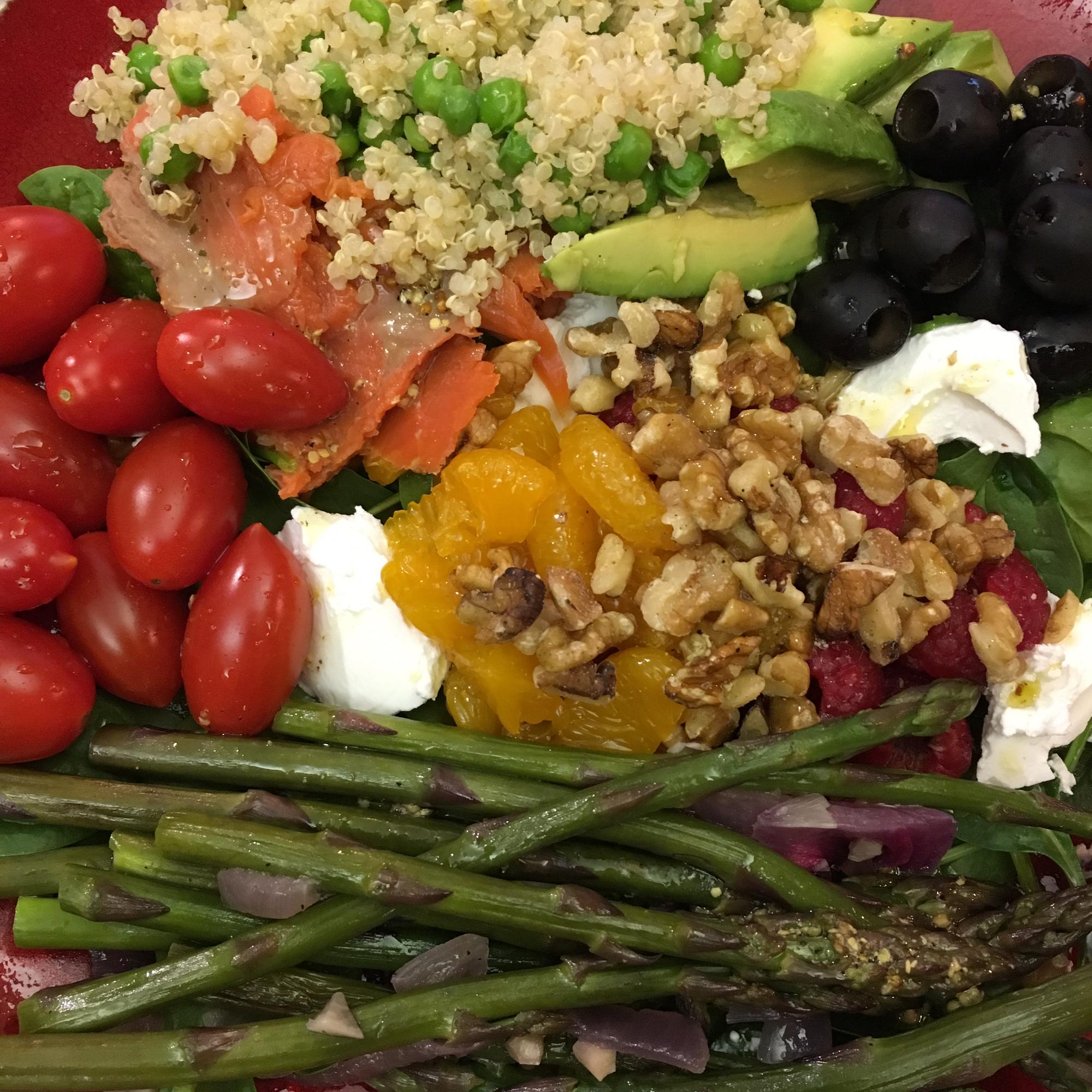 Asparagus and Smoked Salmon Salad Heidi Timmons