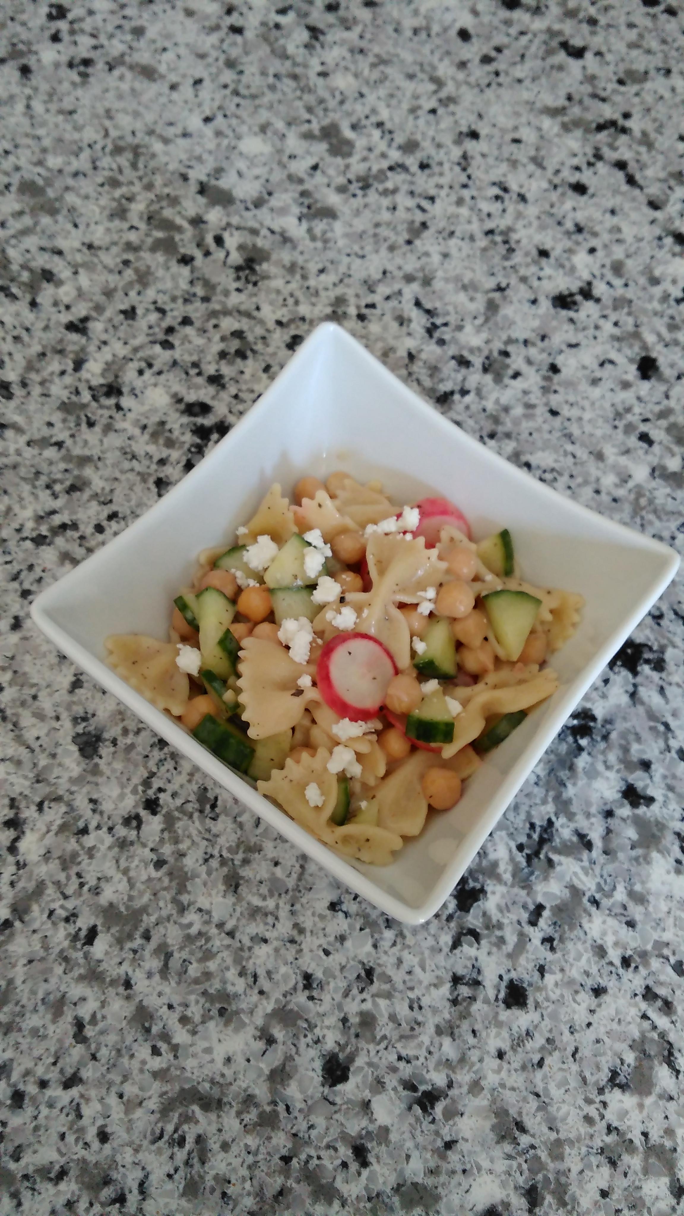 Greek-alicious Pasta Salad Bren