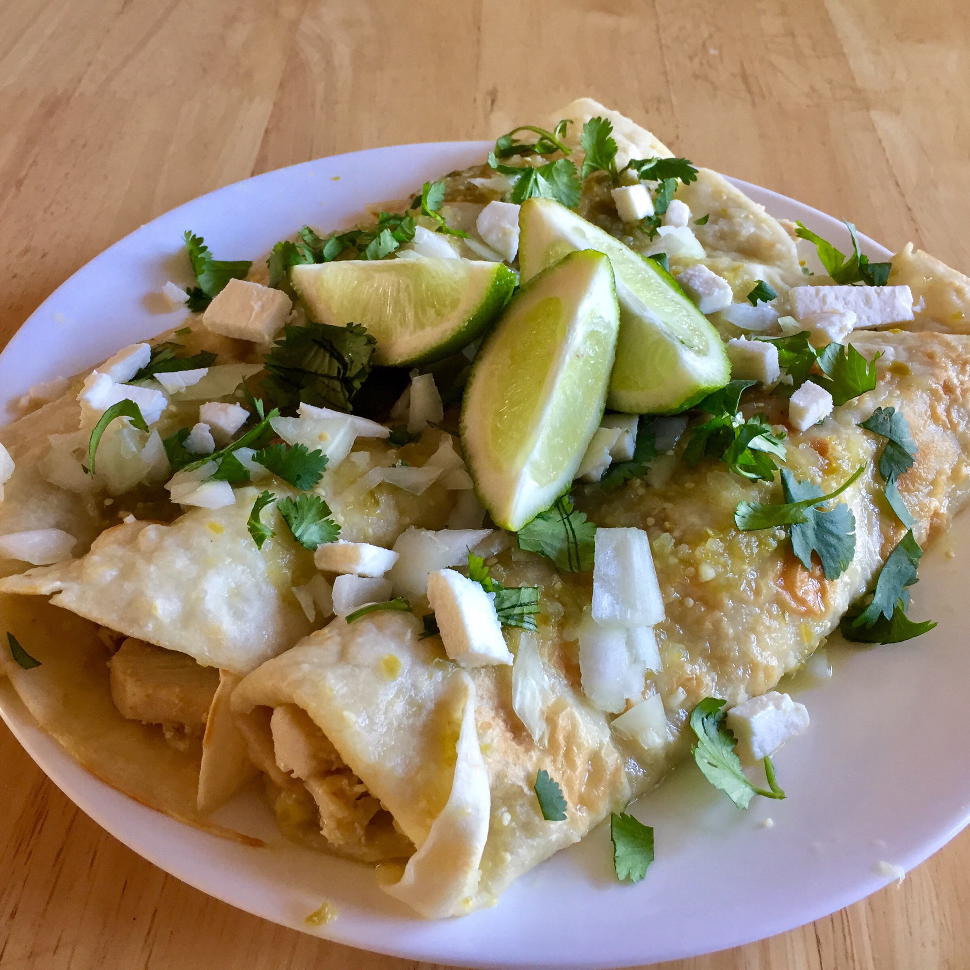 Authentic Enchiladas Verdes Recipe Allrecipes