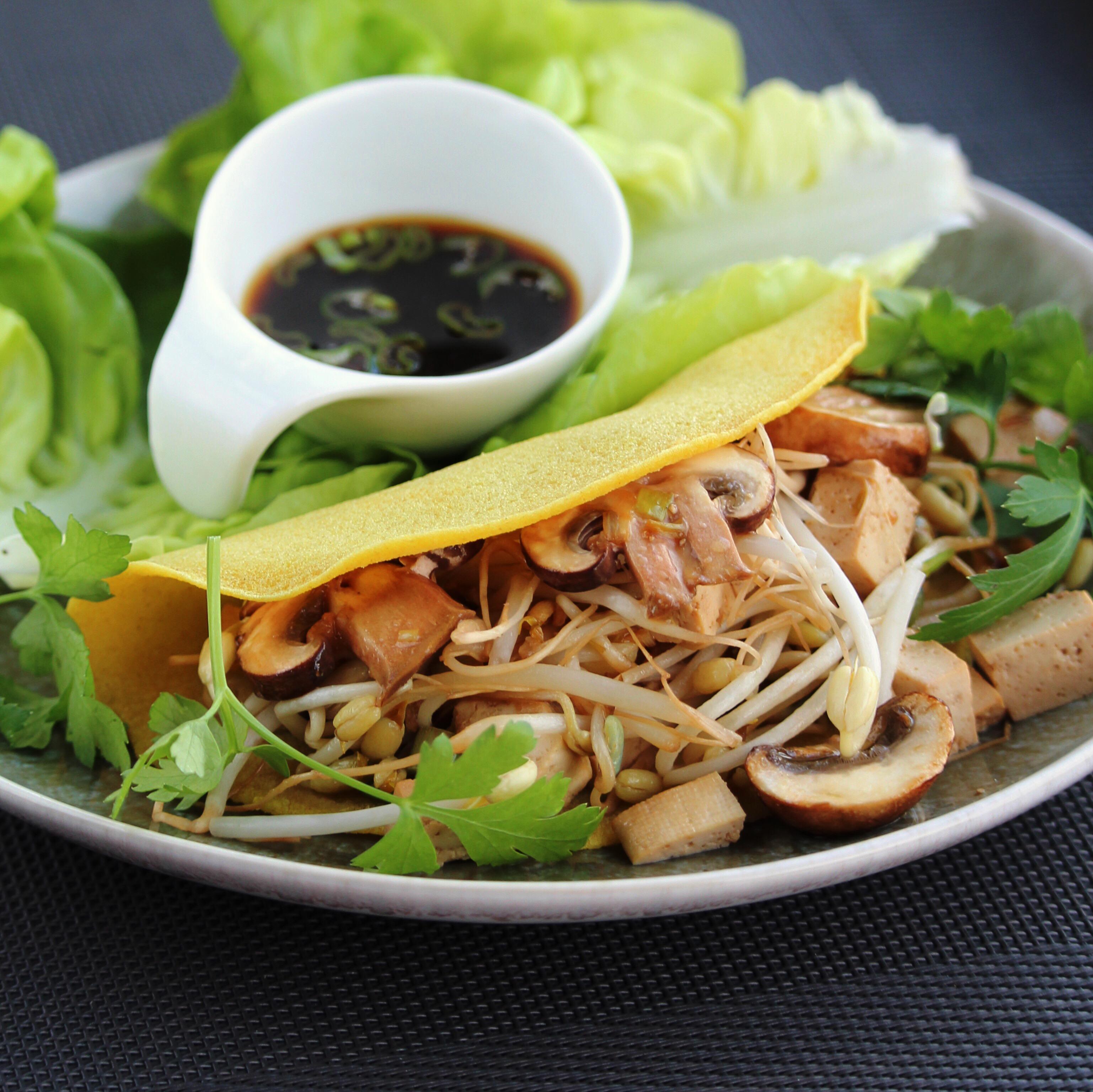 Banh Xeo (Vietnamese Crepes) Buckwheat Queen