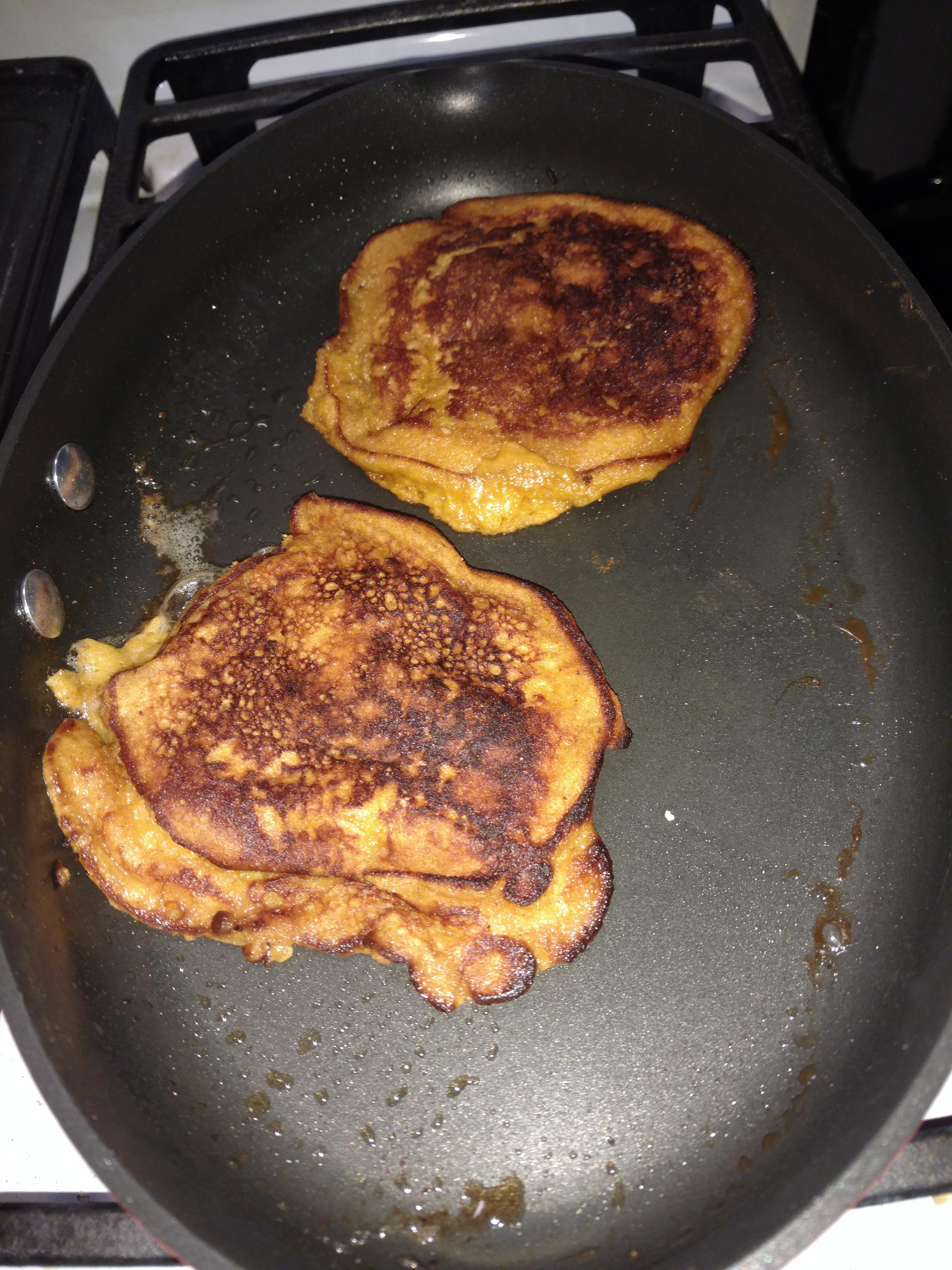 Sweet Potato Breakfast Pancakes burritoqueen