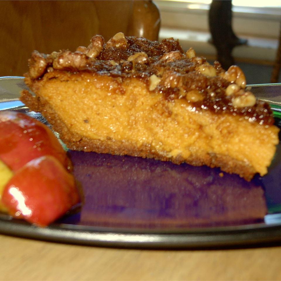 Walnut Pumpkin Pie