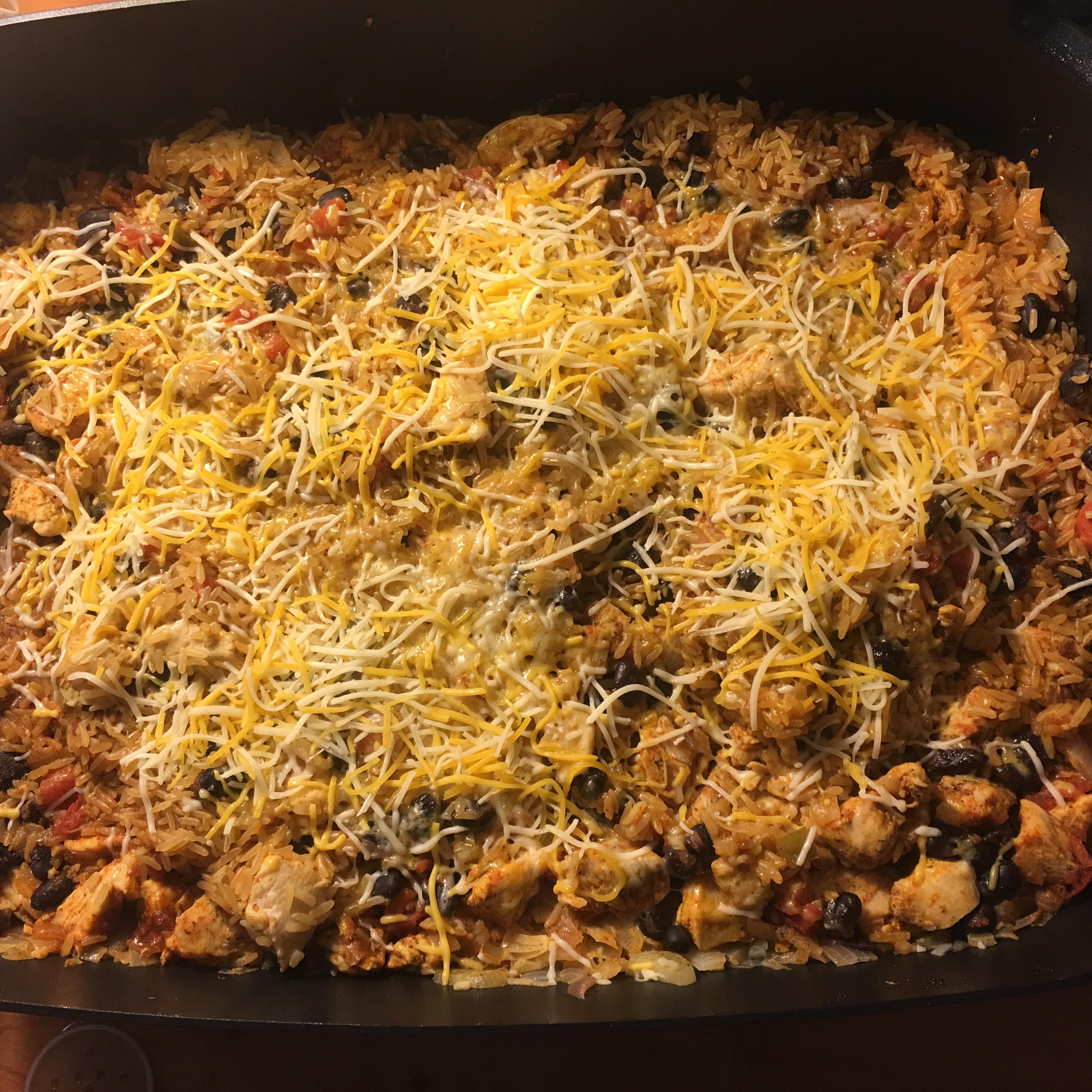 Chicken Burrito Skillet ankafarela