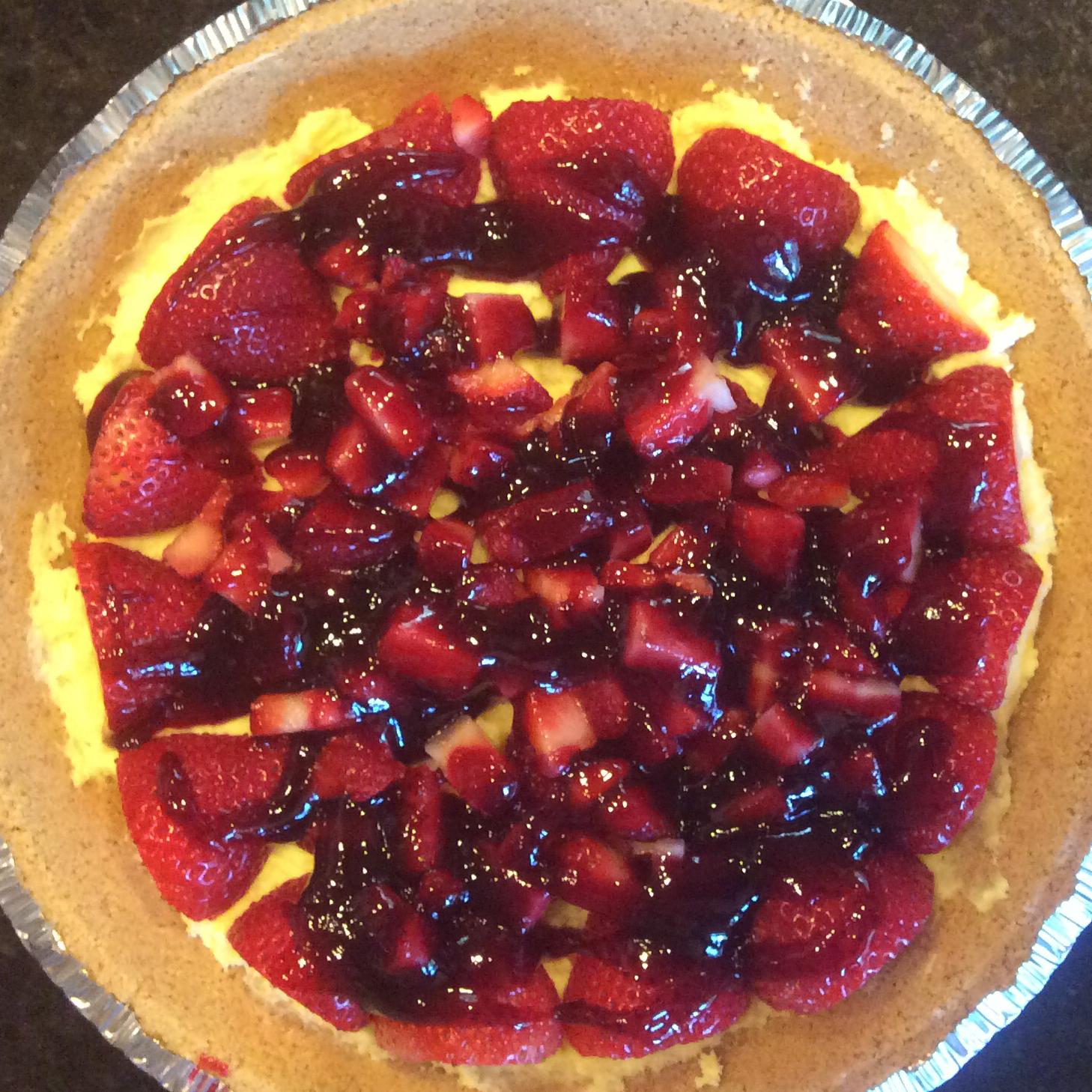 Double Berry Custard Pie Marije Propstra