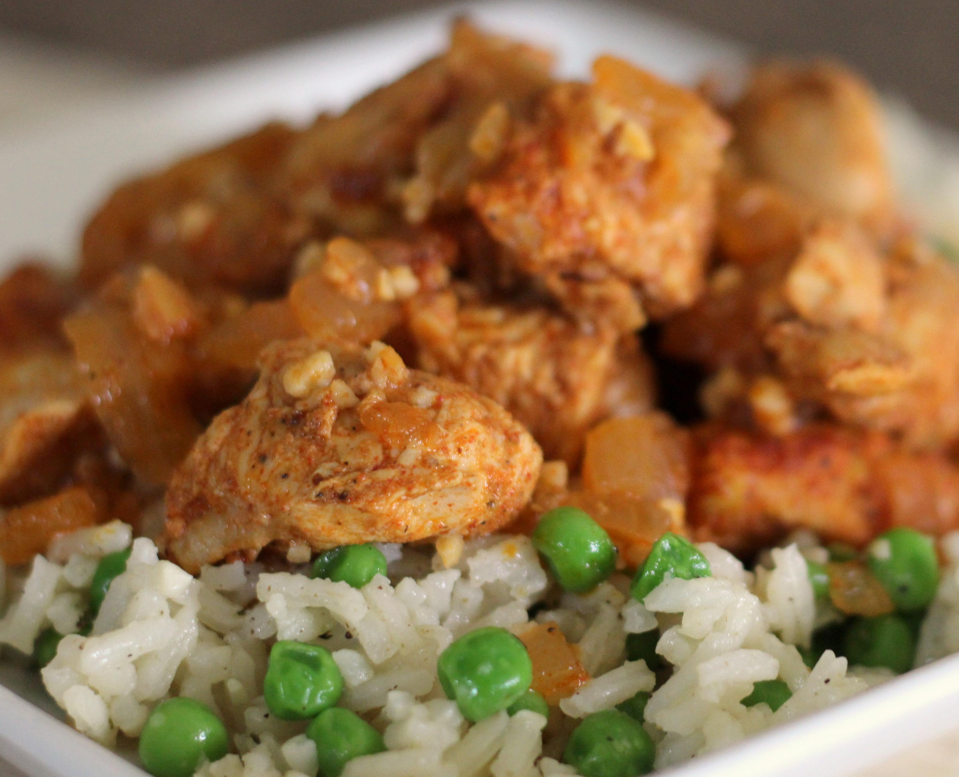 Bill's Peruvian Chicken and Rice