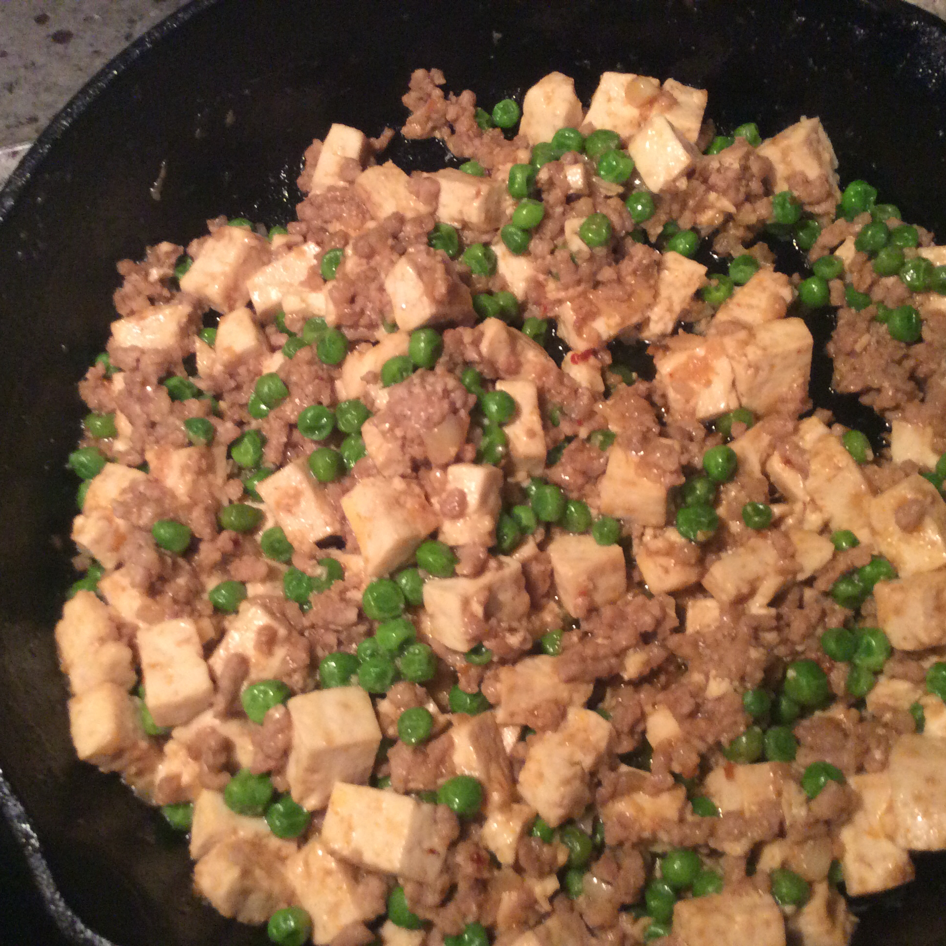 Chinese Mabo Tofu Laurie Palenske