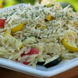 Roasted Vegetable Orzo mominml