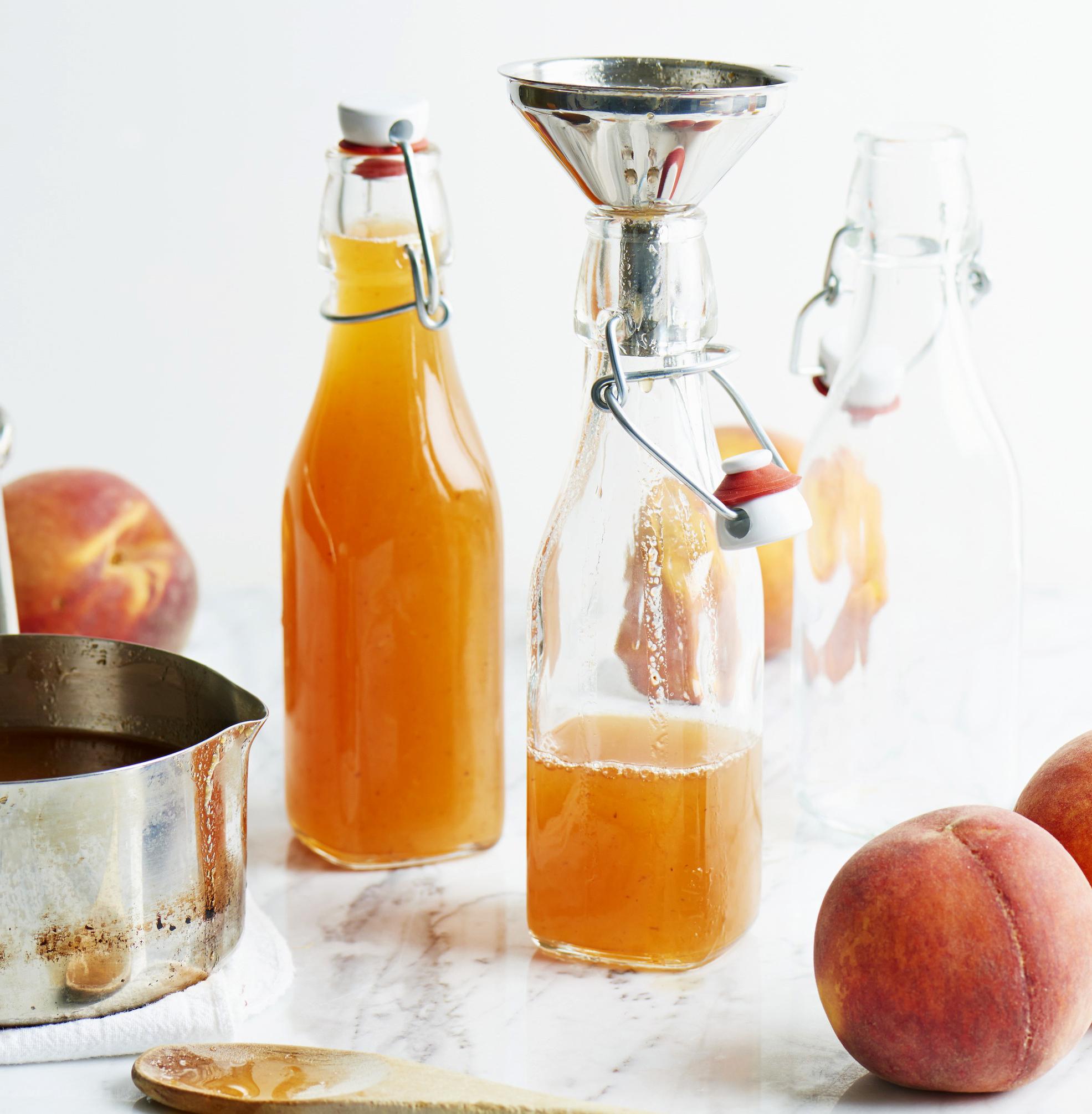 Honeyed Peach Pancake Syrup