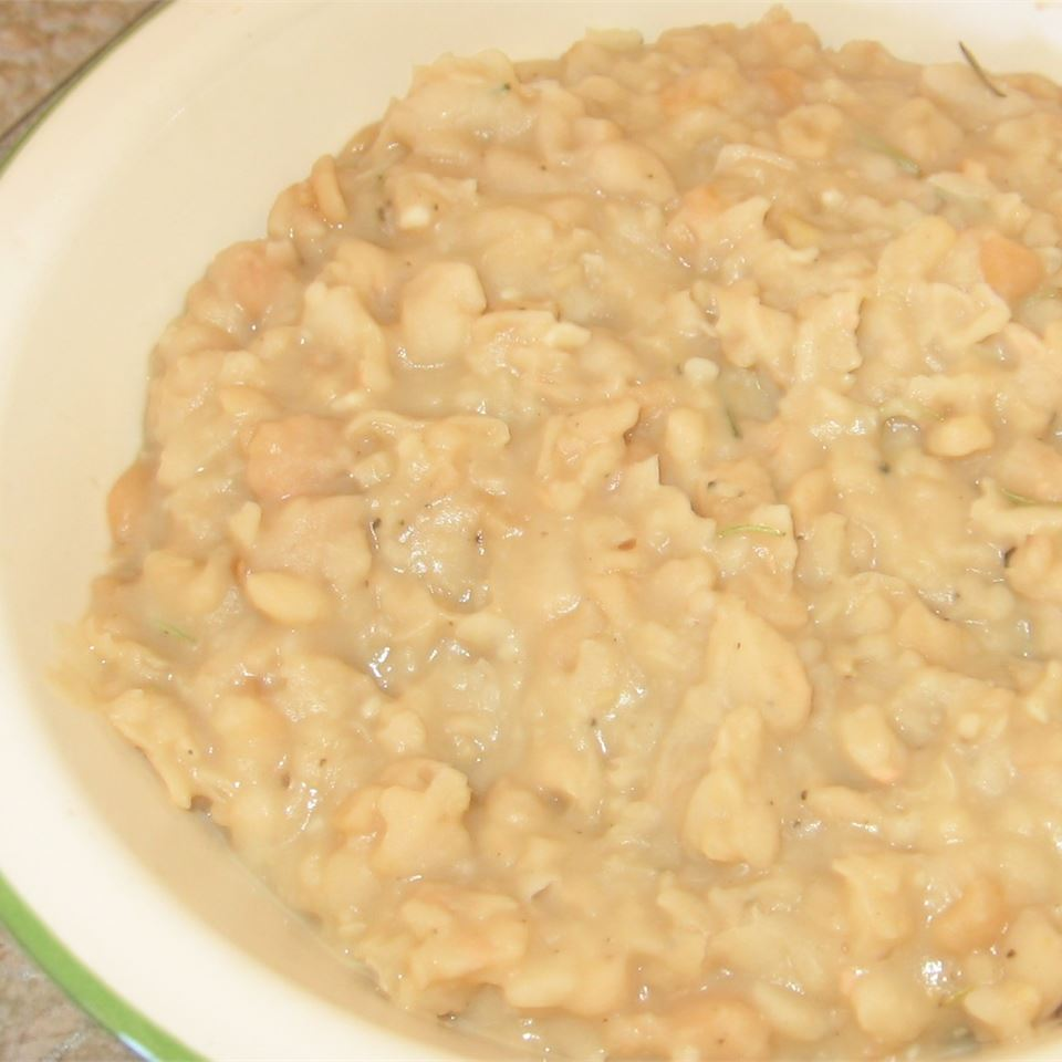 White Bean Spread With Garlic & Rosemary Snow likes to cook