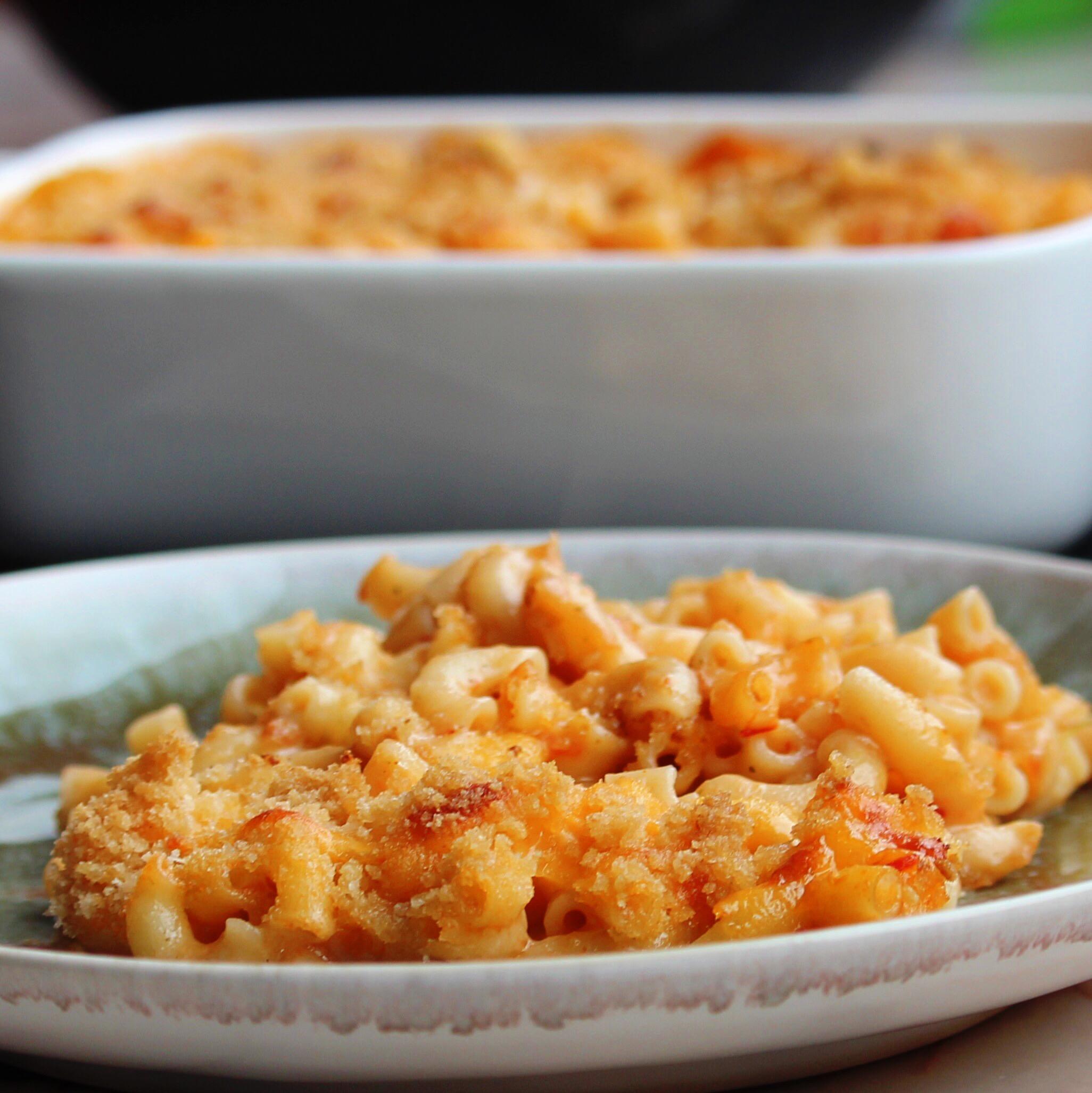 Baked Tomato Mac 'n Cheese