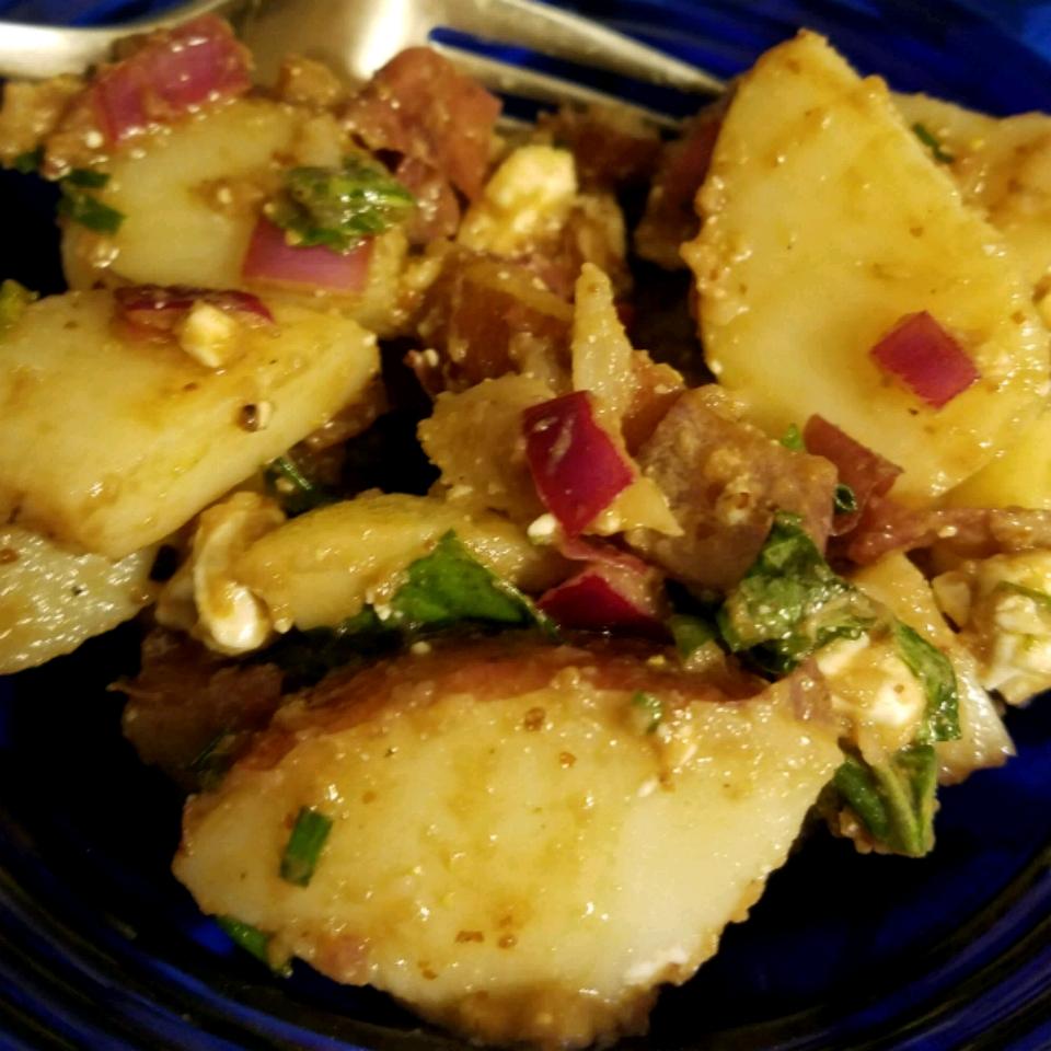 Picnic Potato Salad with No Mayonnaise Carolynn Ní Lochlainn