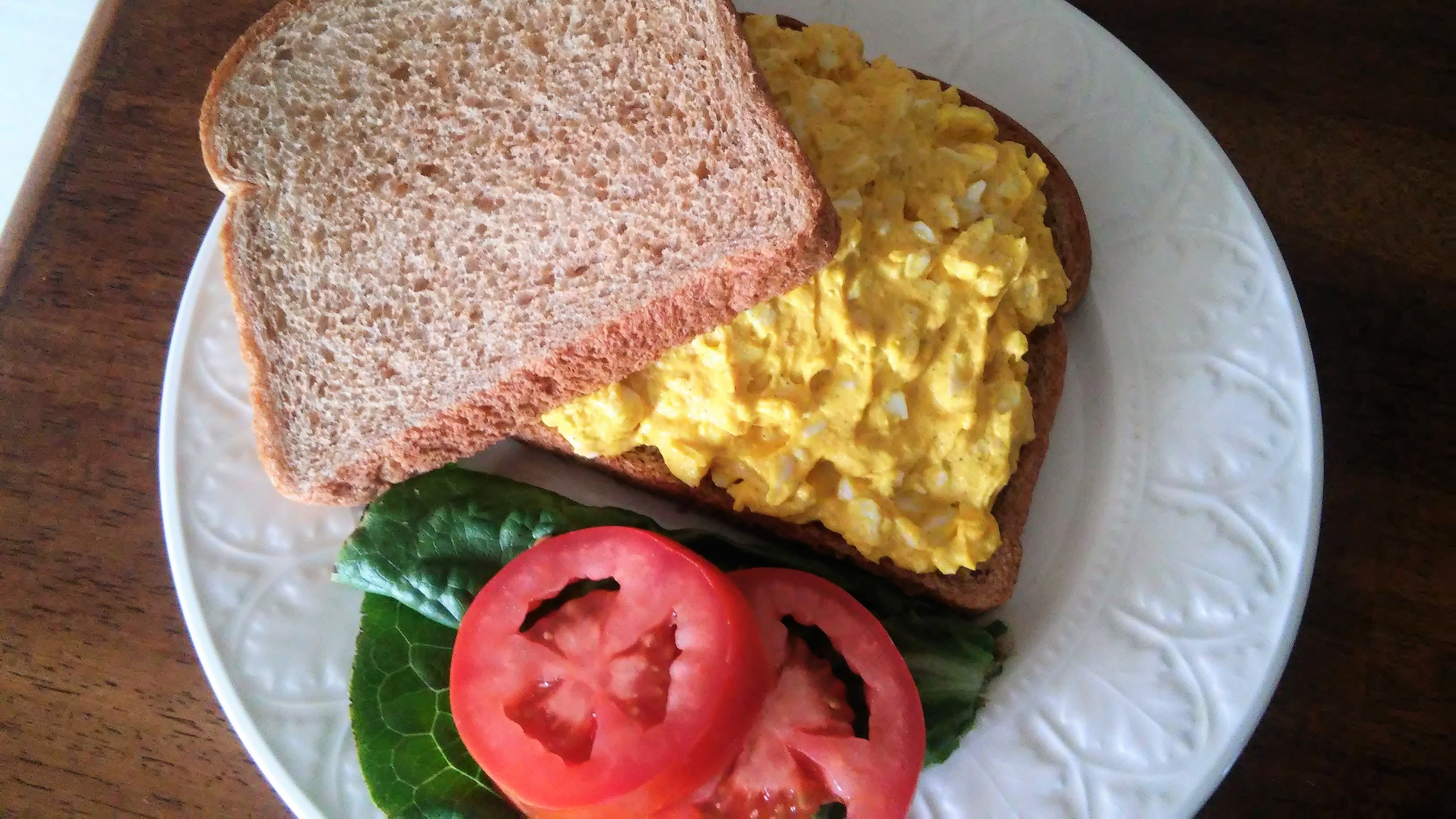 Curried Egg Sandwiches Tammy Lynn