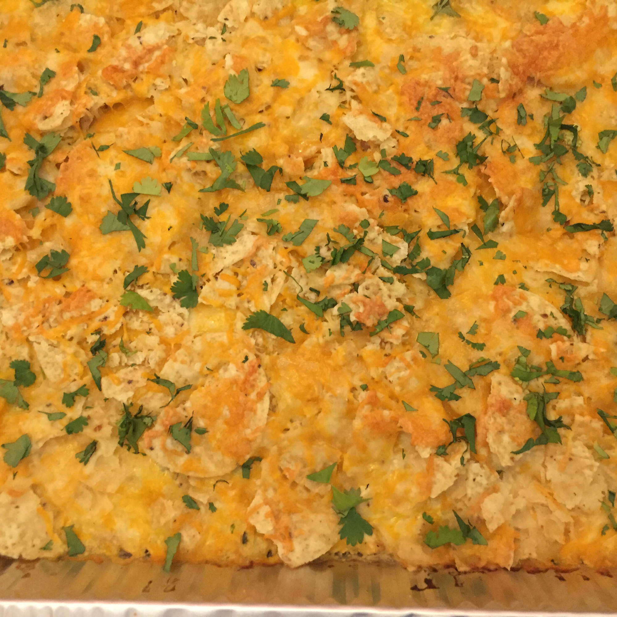 Sour Cream Chicken Enchilada Casserole Mandtz