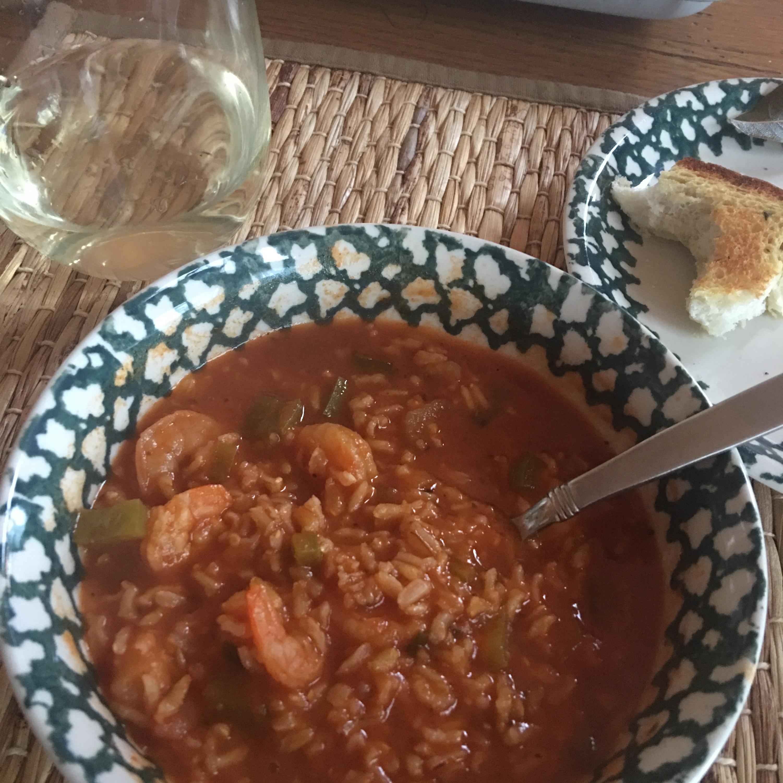 Big Ed's Cajun Shrimp Soup Vikki Johnson