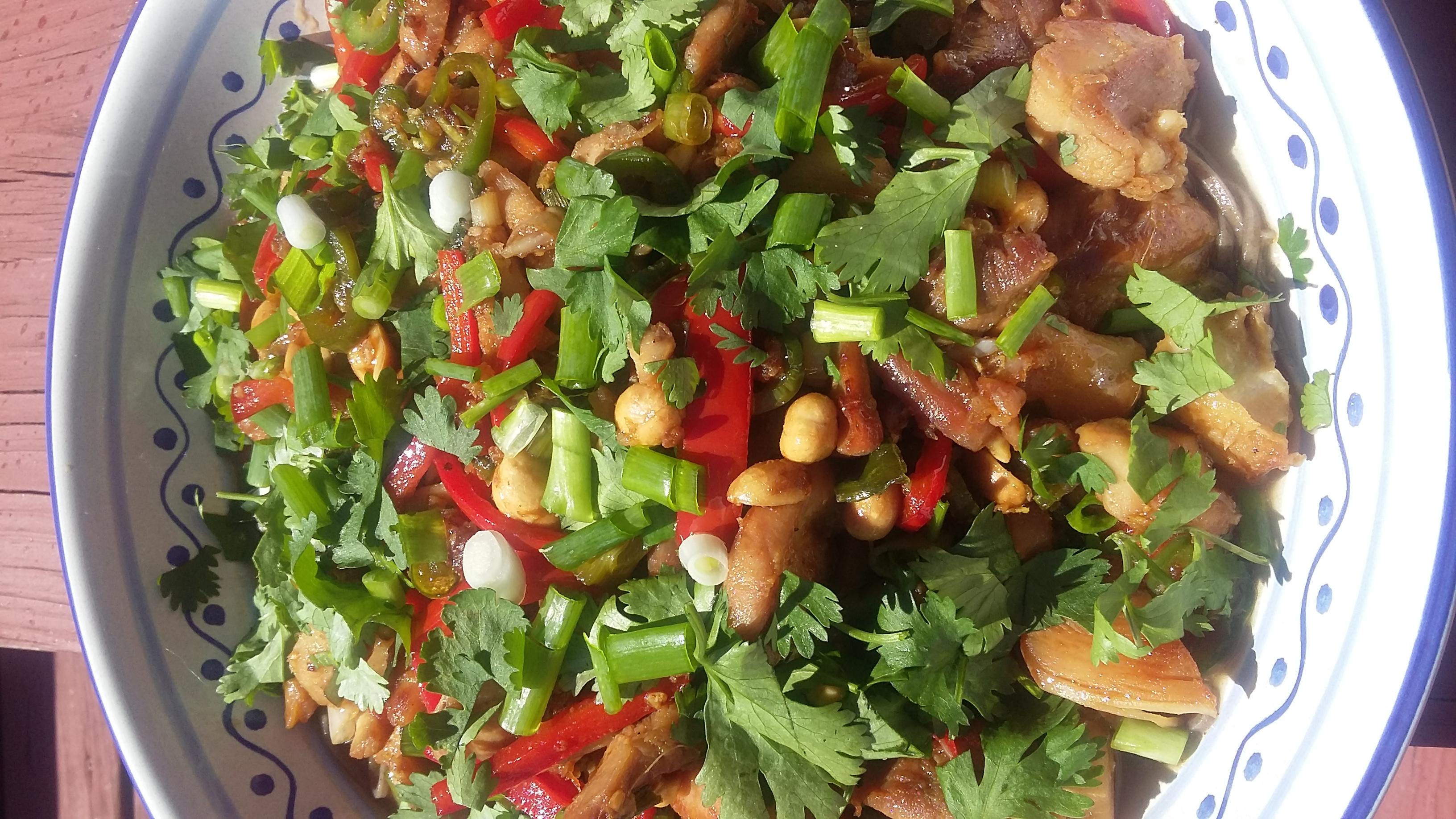 Spicy Caramel Chicken