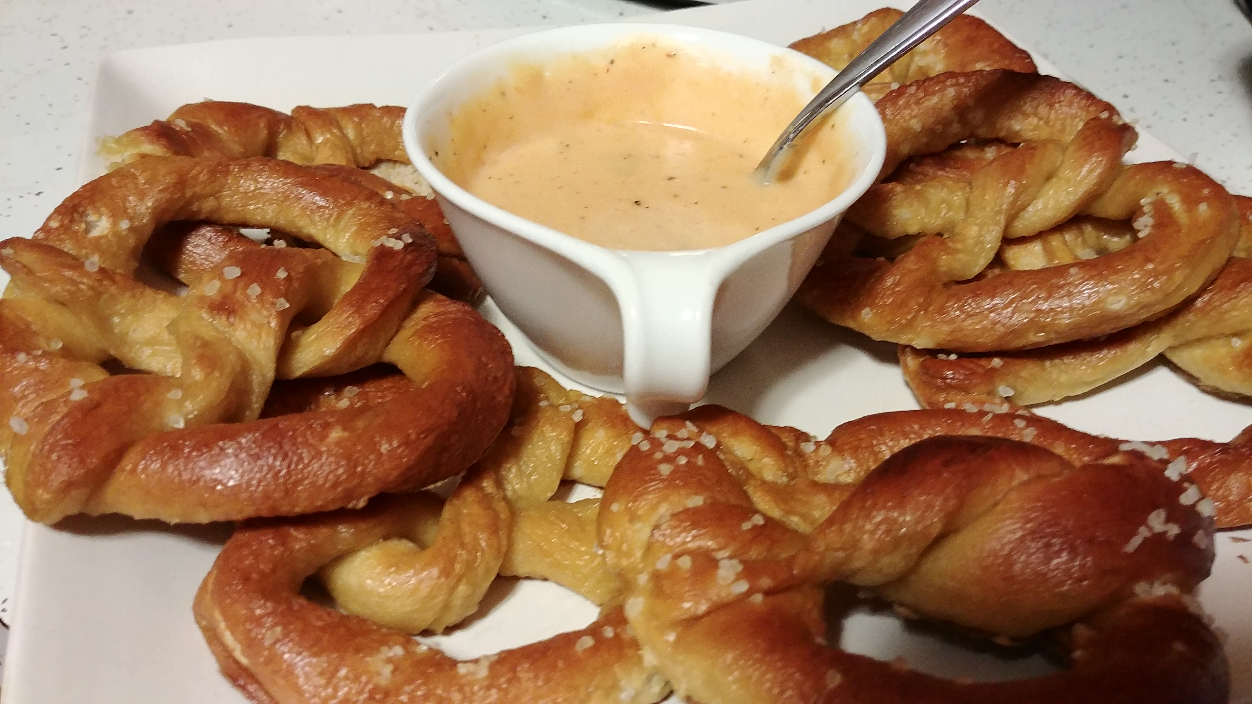 Large Soft Pretzels (Quick)