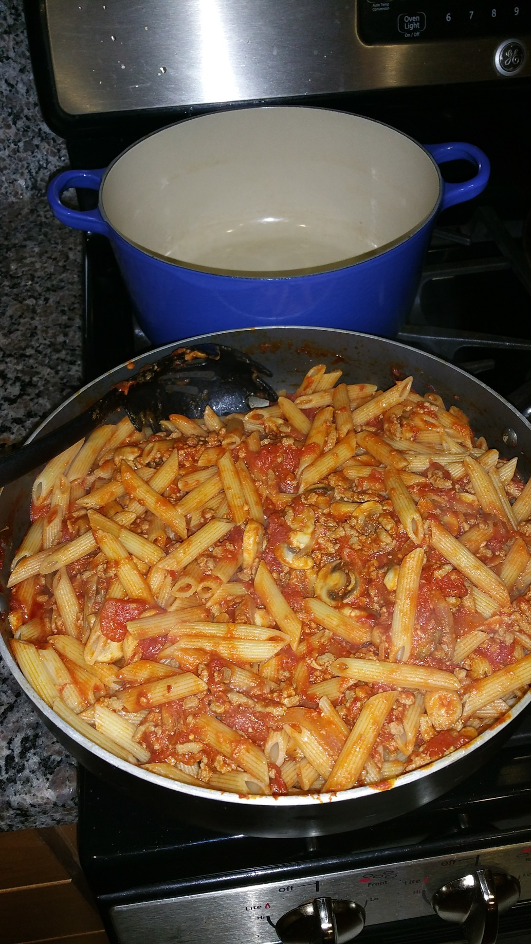 Turkey Goulash with Penne Michael Flory