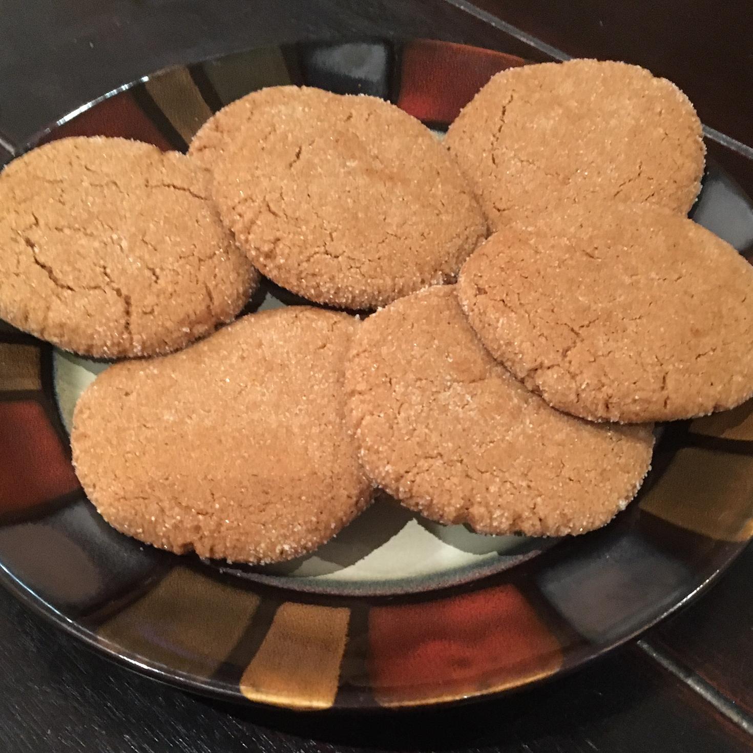 Big Soft Ginger Cookies Jilian