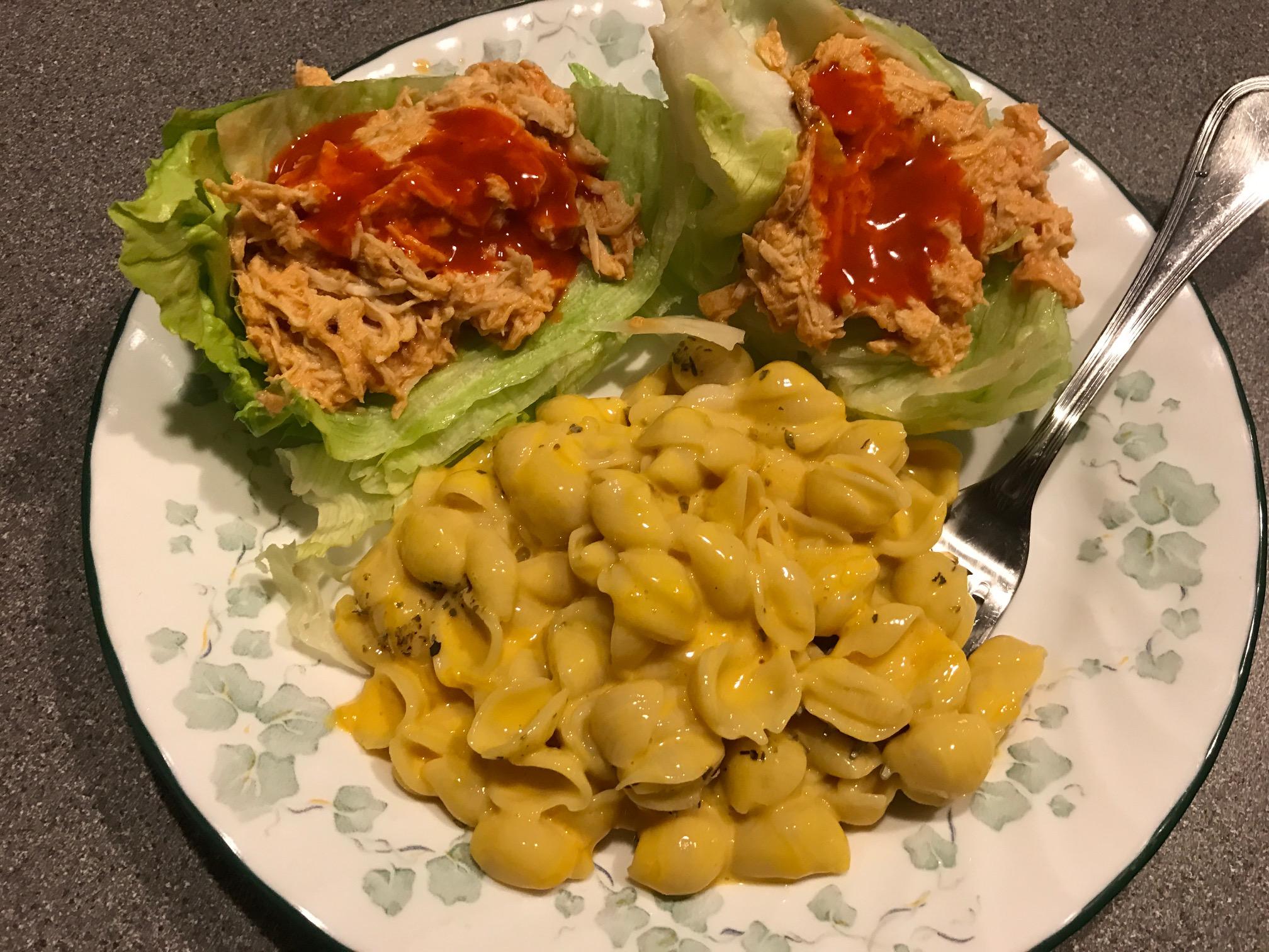 Slow Cooker Buffalo Chicken Lettuce Wraps Ryan