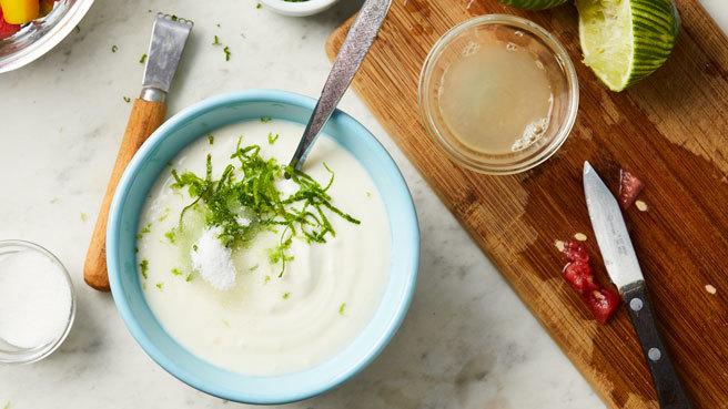 Lime Yogurt Fruit Salad Dressing Trusted Brands